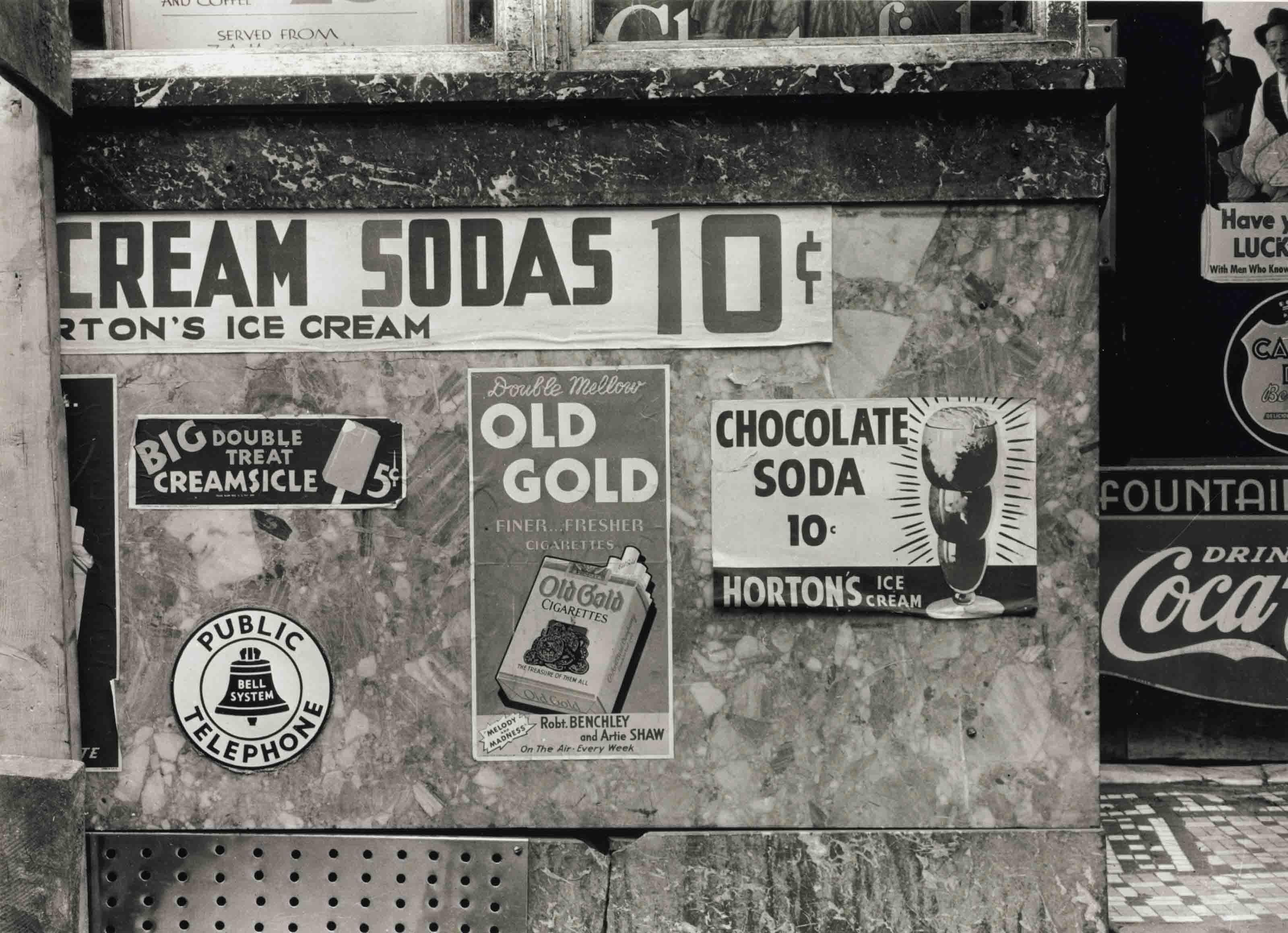 Soda Counter, 1939