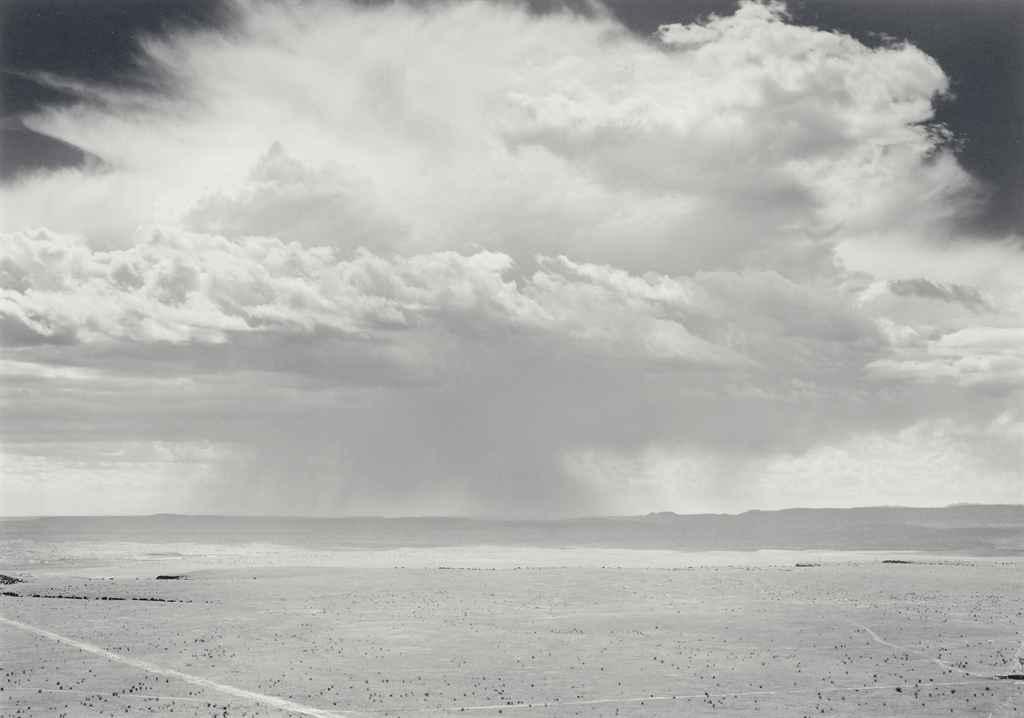 Cloud, La Bajada, New Mexico, 1975