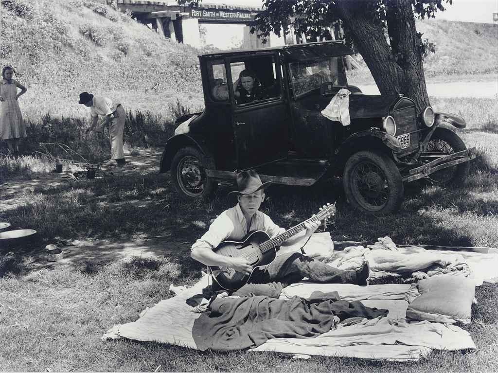Oklahoma Migrants, 1939