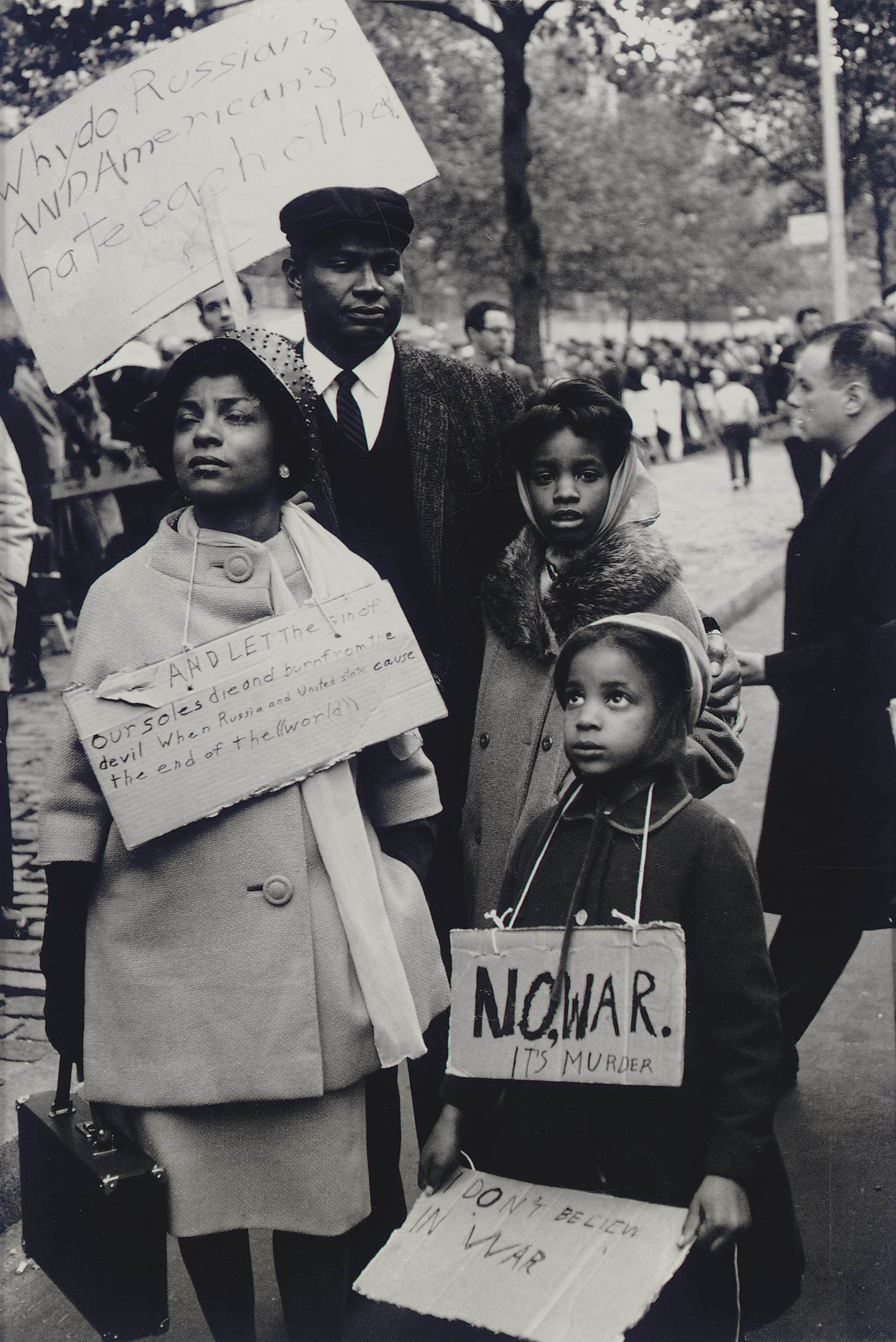 Protest, Cuban Missile Crisis, 1962