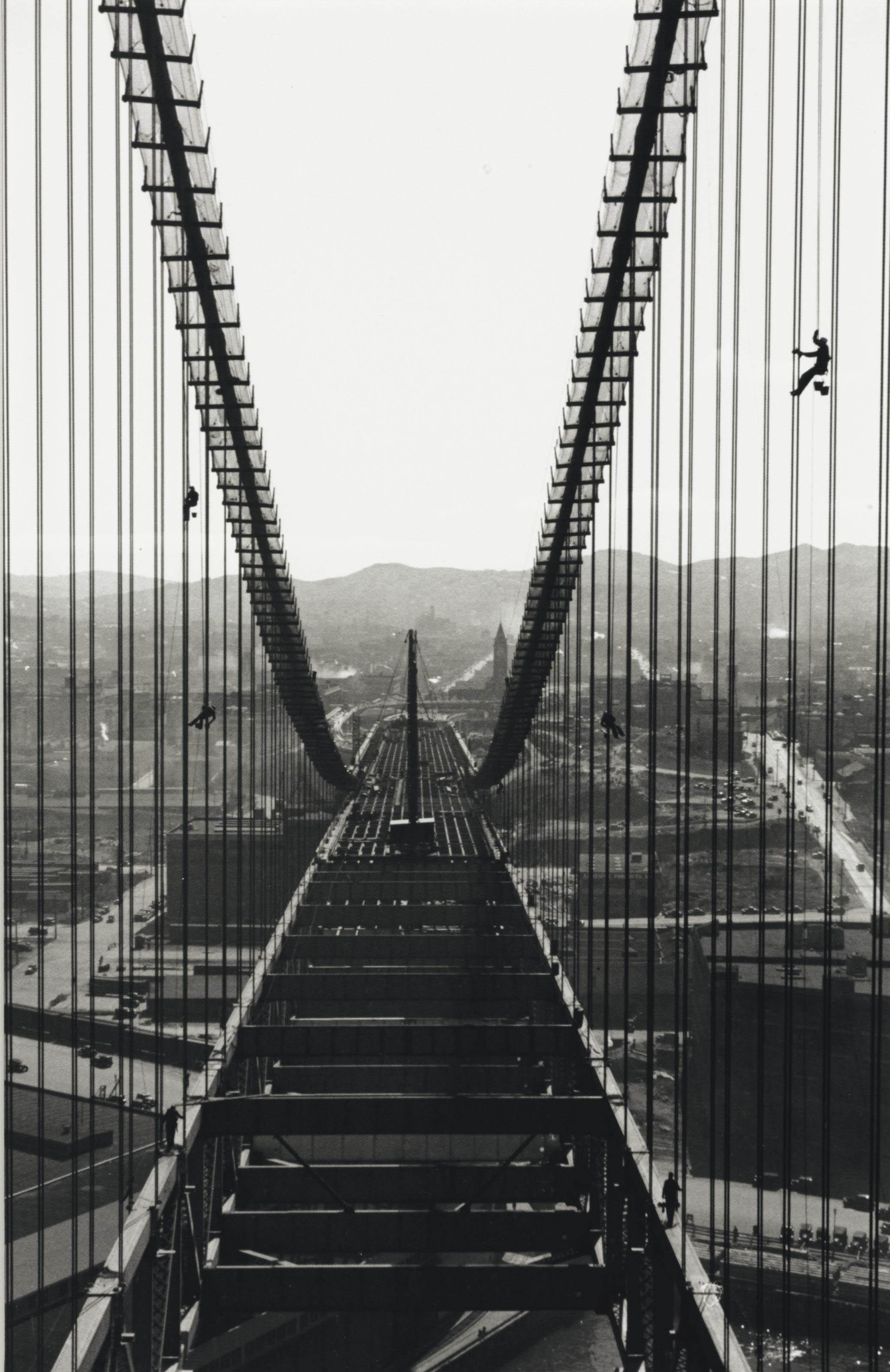Building the Bay Bridge, 1935