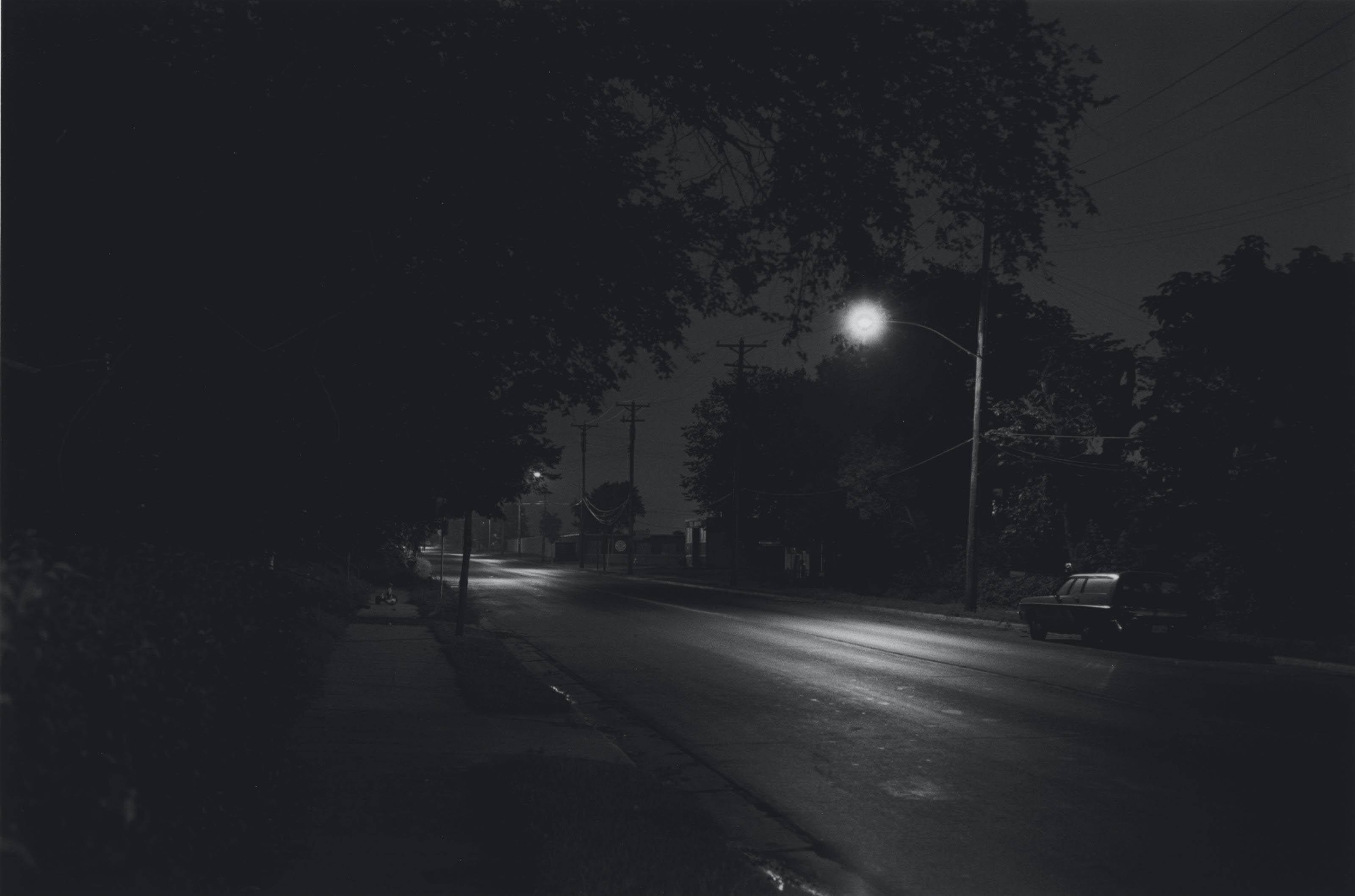 Neighborhood Scene, Minneapolis; and Houses along the Mississippi, 1979