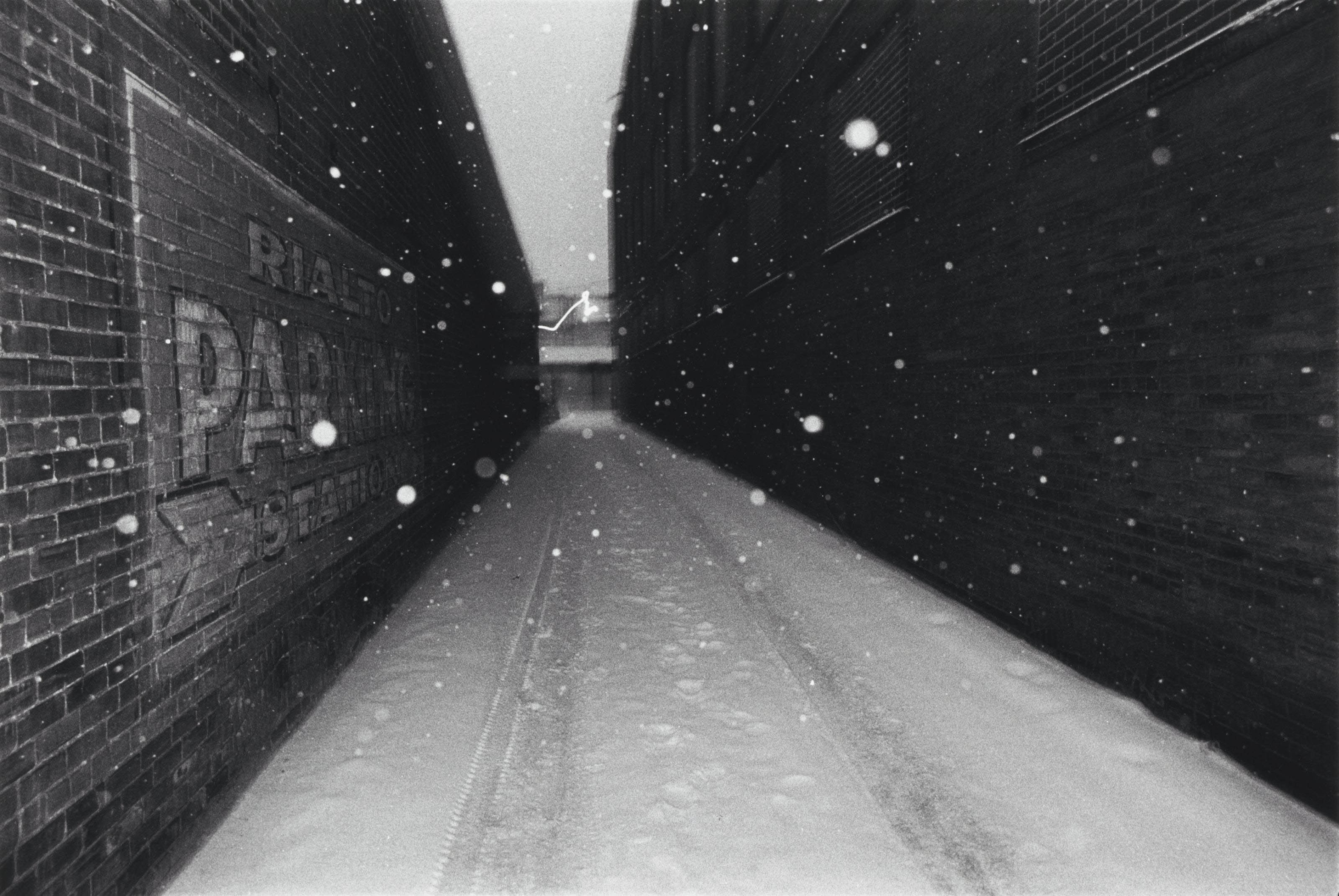 Snow in Alley, 1975-1976