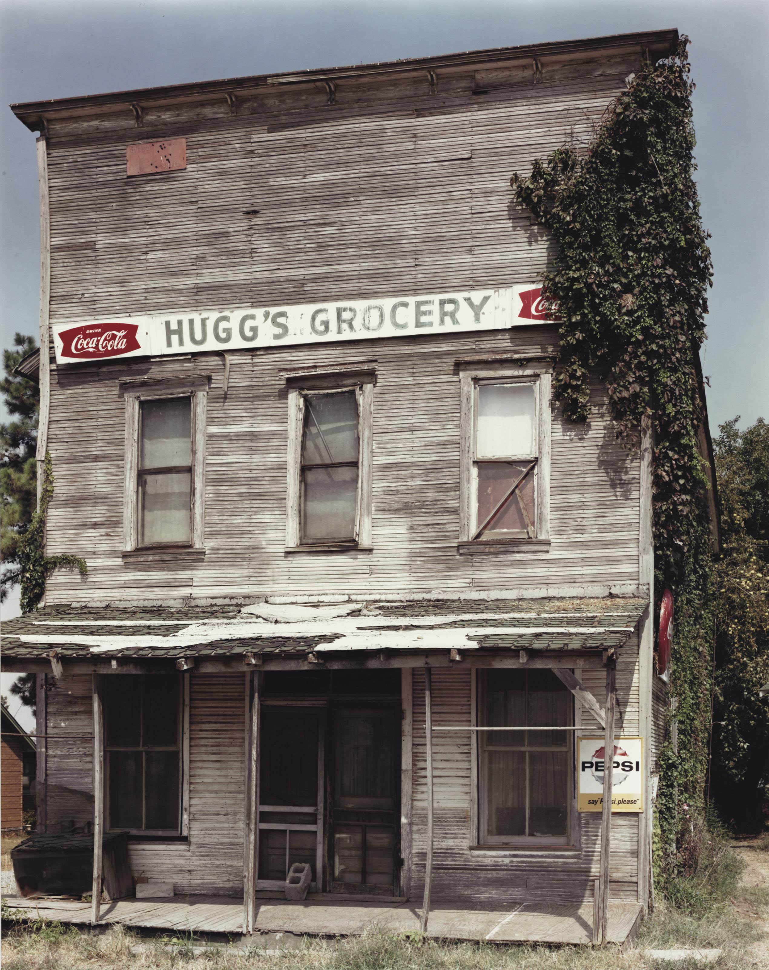 Huggs Grocery, Ulm; and Post Office, Columbus, Arkansas, 1982