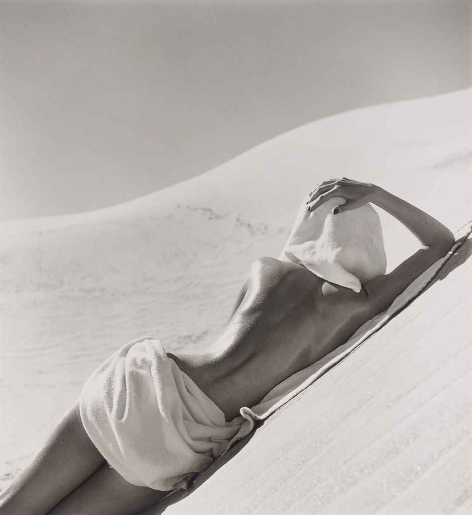 Nude in the Mojave Desert, California, 1947
