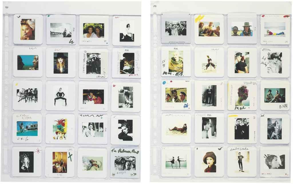 Fashion collage, c. 1995