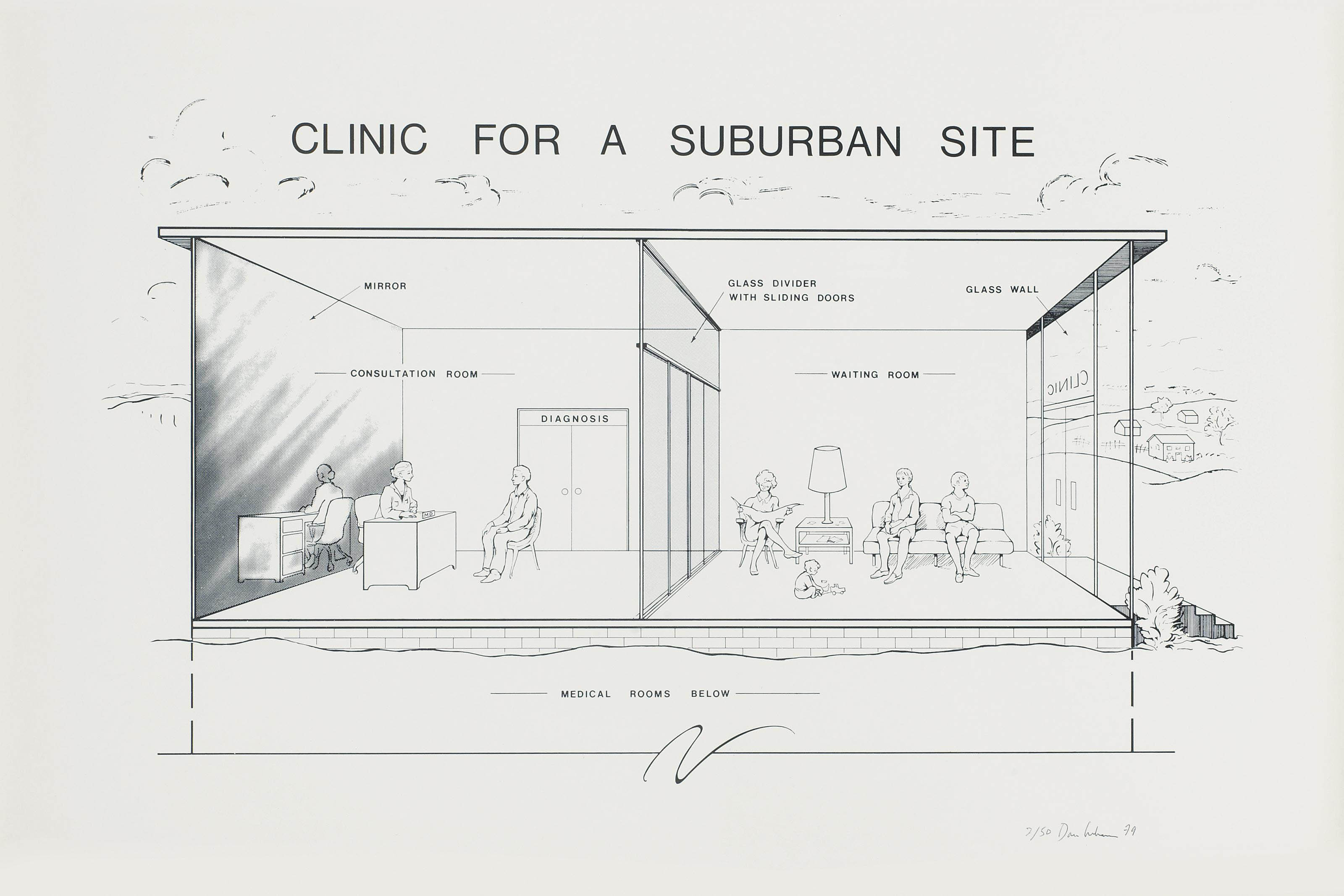 Clinic for a Suburban Site