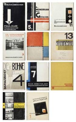 Bauhausb Cher Schriftleitung Walter Gropius L Moholy