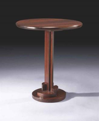 ren herbst 1891 1982 gu ridon haut vers 1926. Black Bedroom Furniture Sets. Home Design Ideas