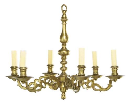 lustre hollandais de style baroque christie 39 s. Black Bedroom Furniture Sets. Home Design Ideas