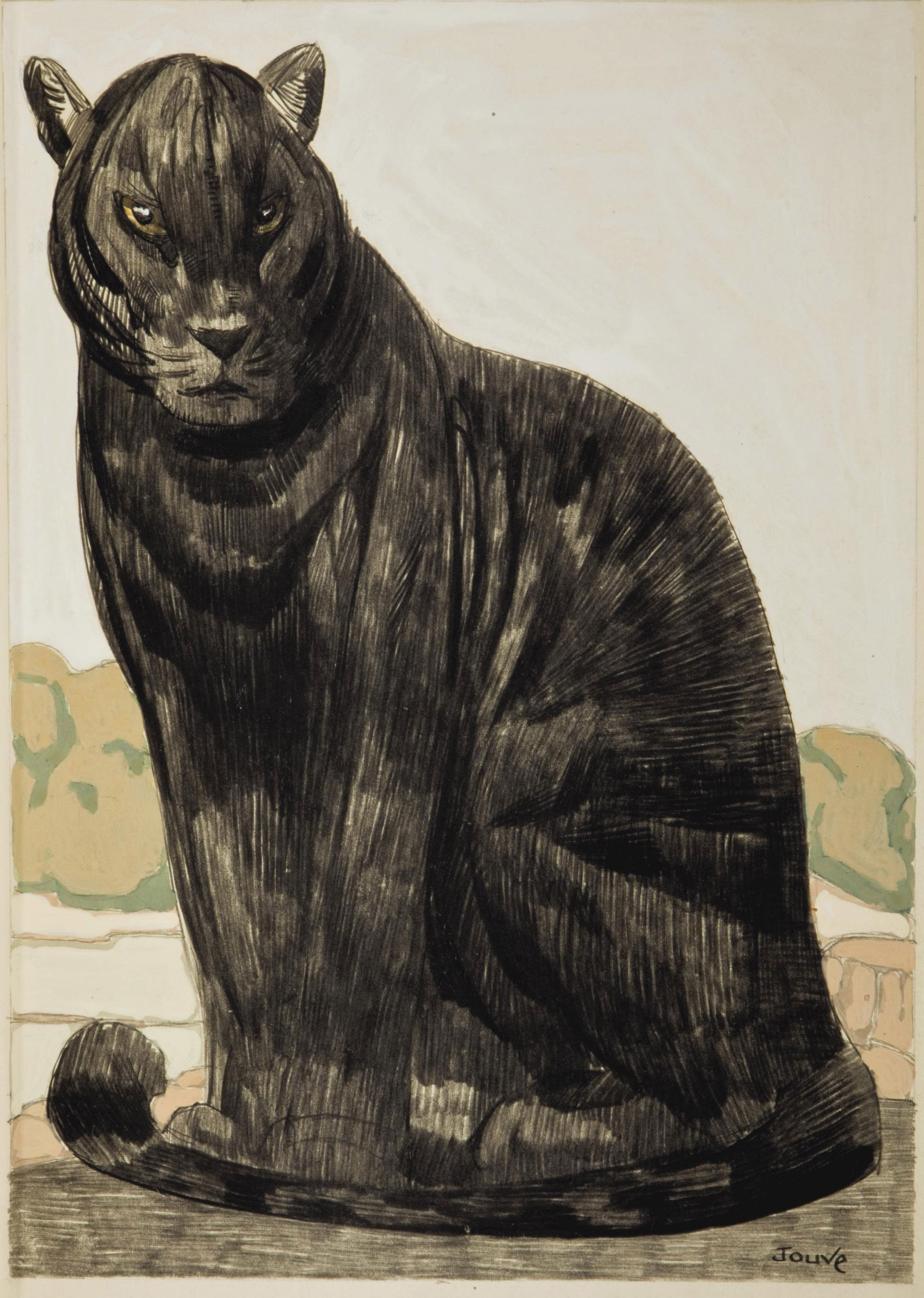 [JOUVE] -- KIPLING, Rudyard (1865-1936). Le Livre de la jungle [le second livre de la jungle]. Traduit de l'anglais par Louis Fabulet et Robert d'Humières. Paris: Société du livre contemporain, 1919.