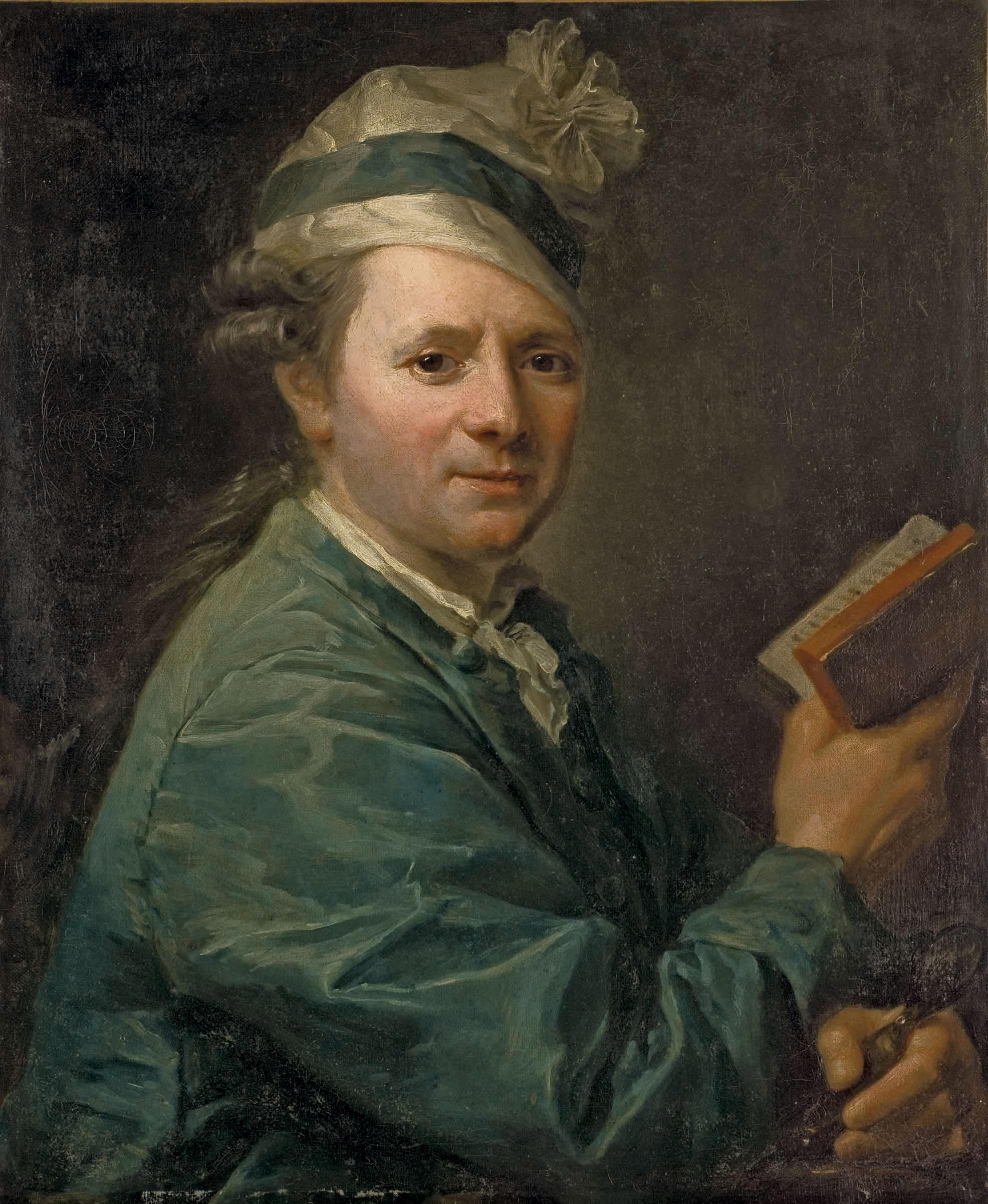 Portrait présumé de monsieur de Sénac de Meilhan (1736-1803)