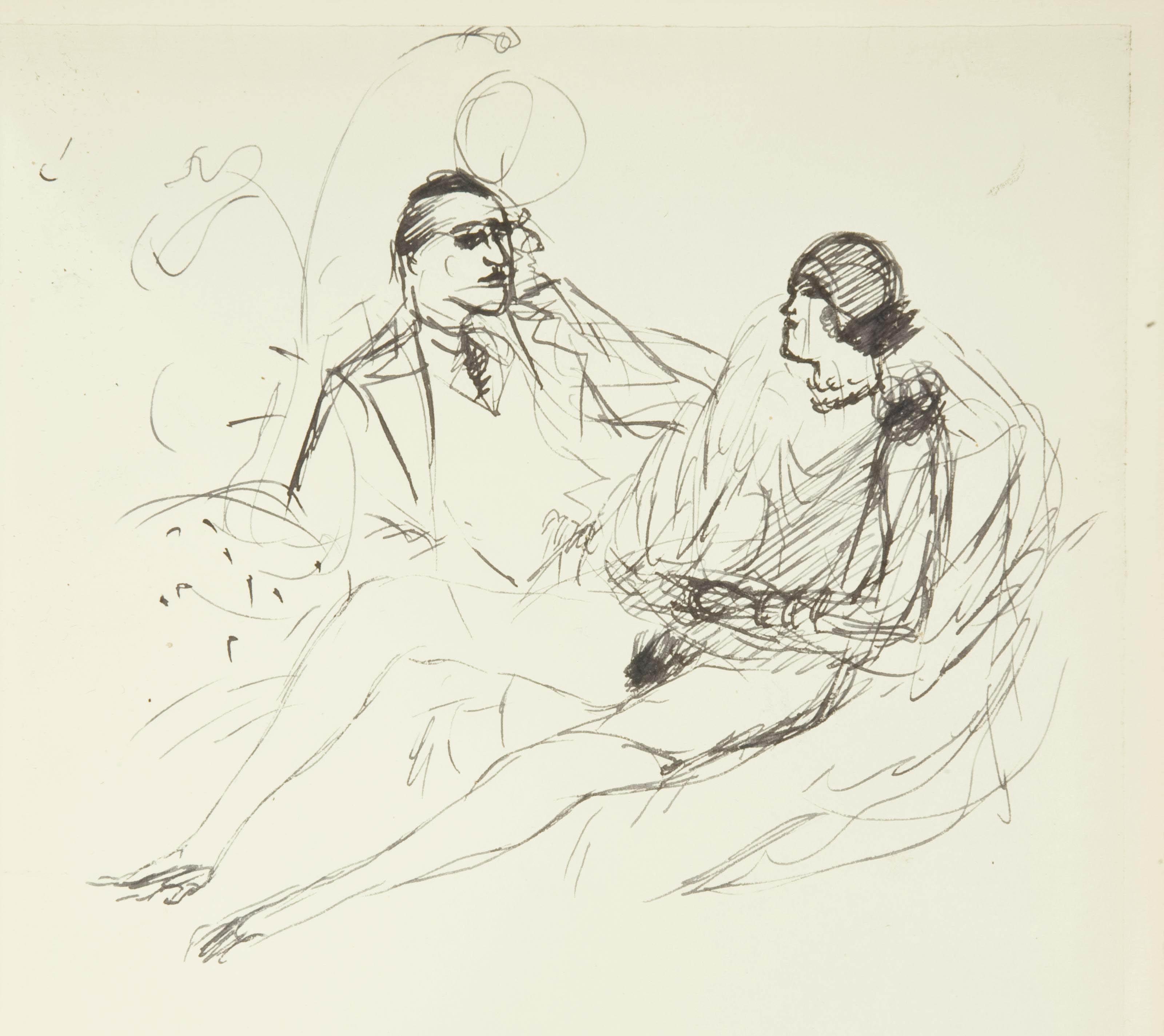 [VERTÈS] -- [LOUYS, Pierre (1870-1925)]. Pybrac. Paris: Aux dépens d'un amateur [Marcel Vertès], 1928.