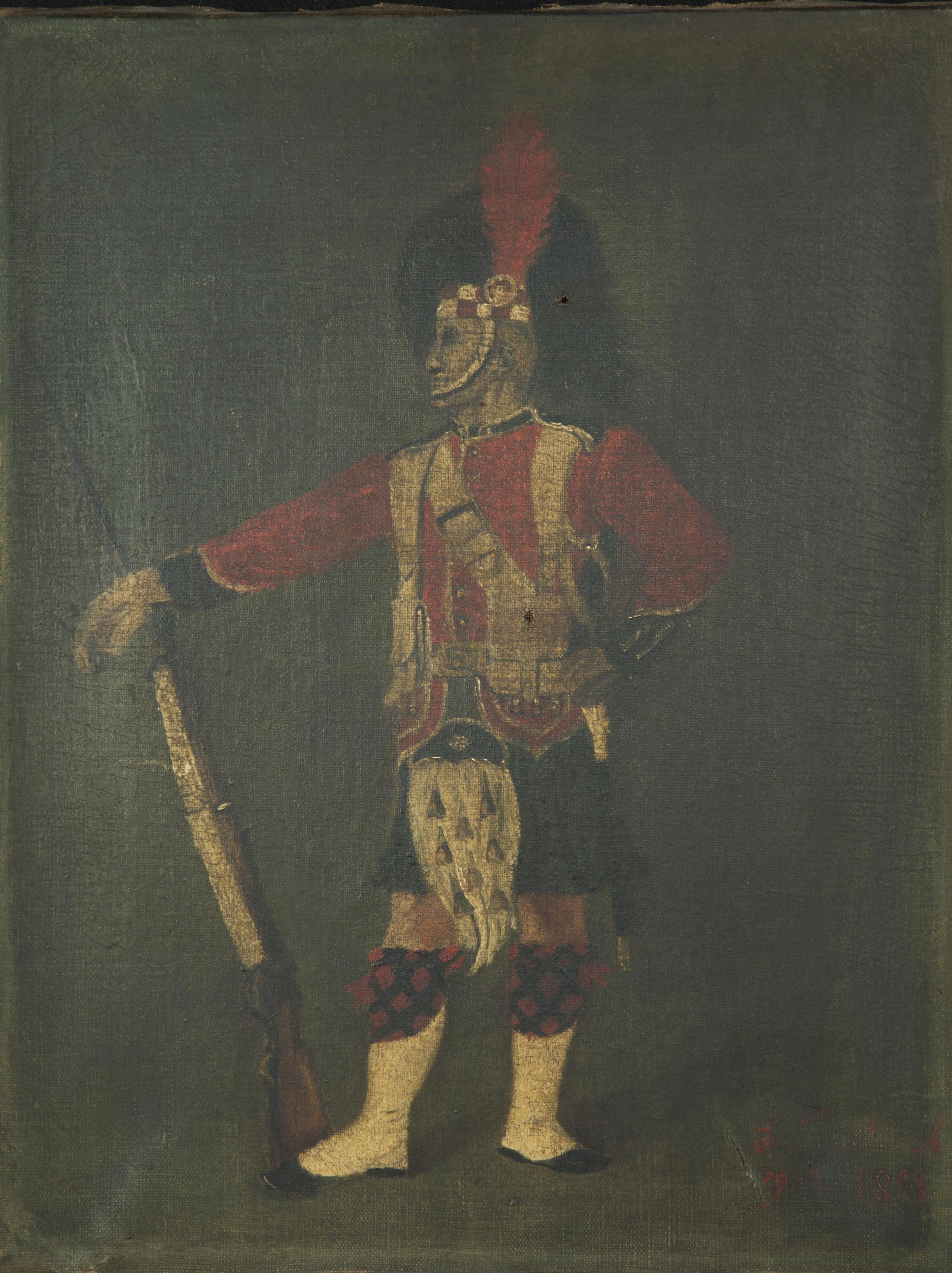 Soldat écossais