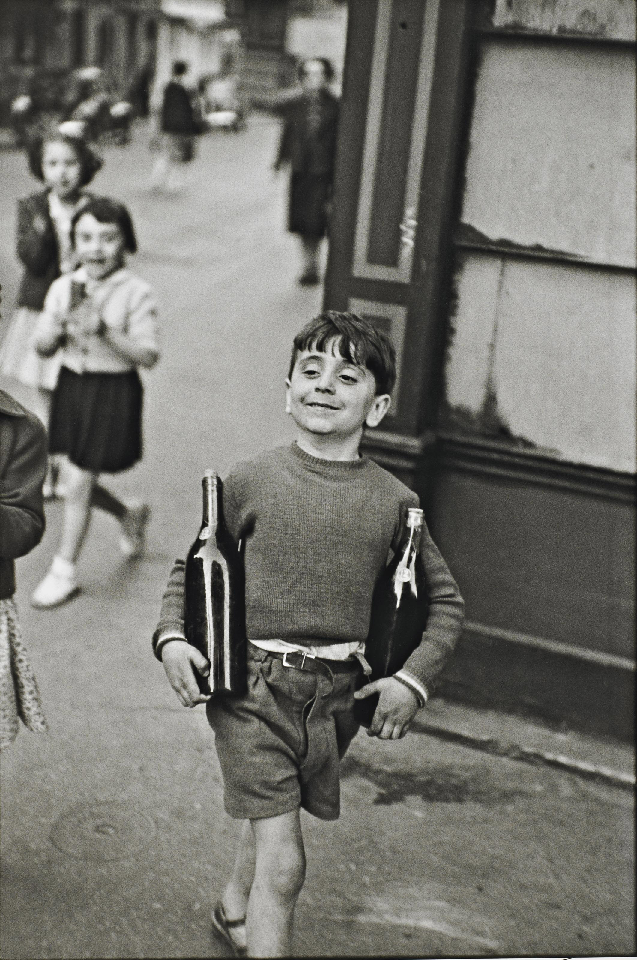 Rue Mouffetard, Paris, 1952