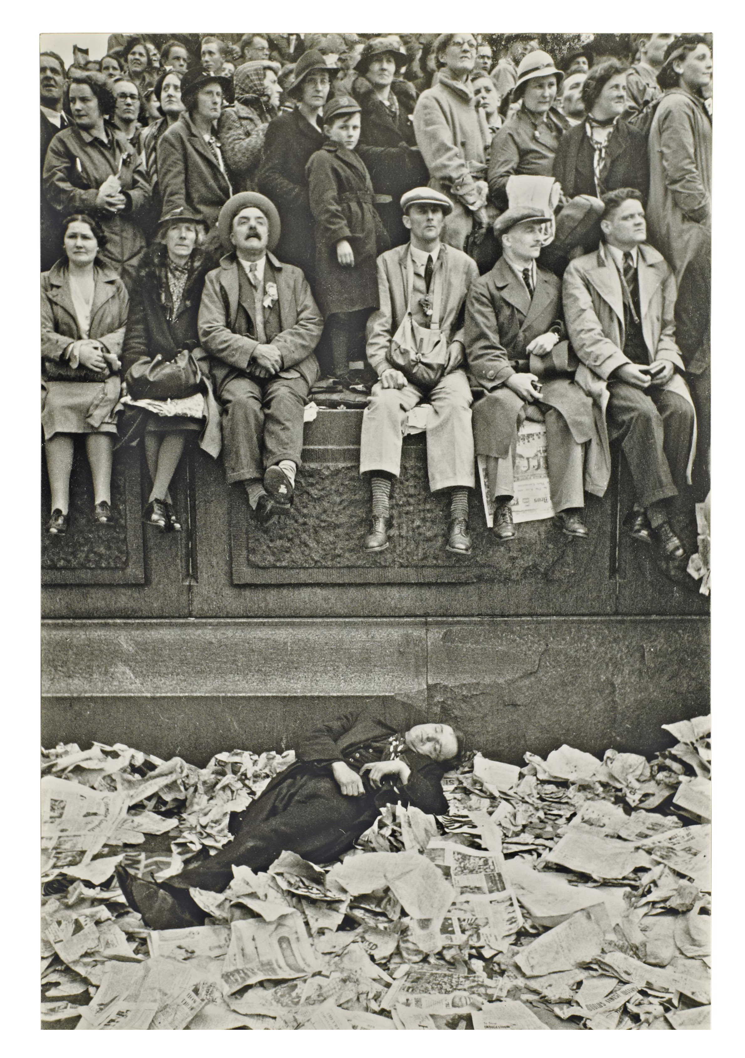 Couronnement du roi George VI, Trafalgar Square, Londres, 12 mai 1937