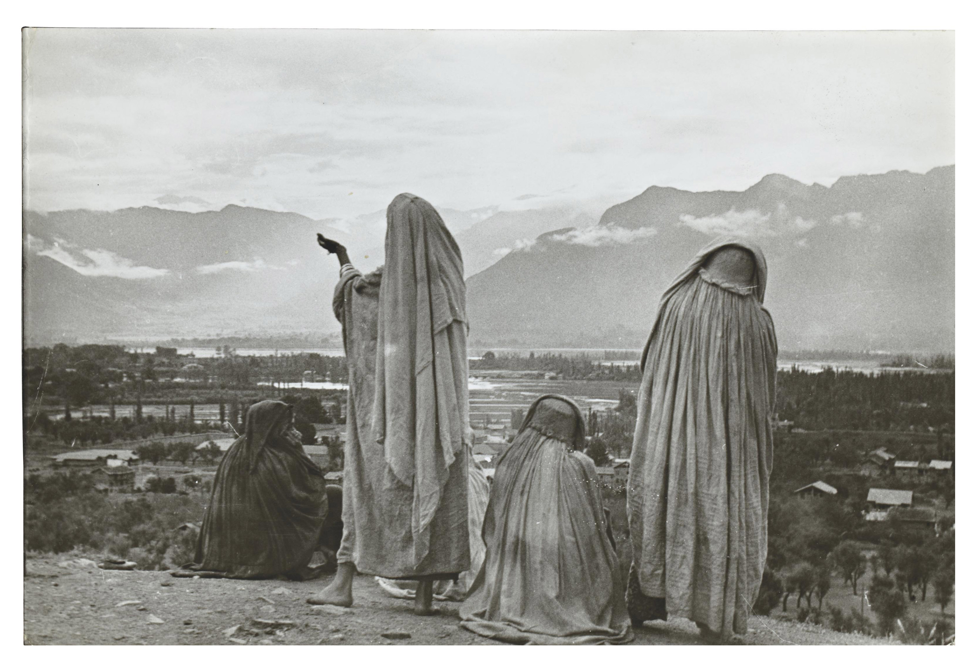 Srinagar, Cachemire, Inde, 1948