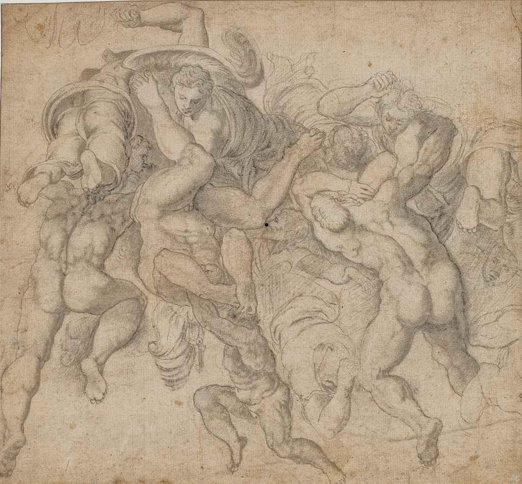 D'après le Jugement Dernier de Michelangelo Buonarroti