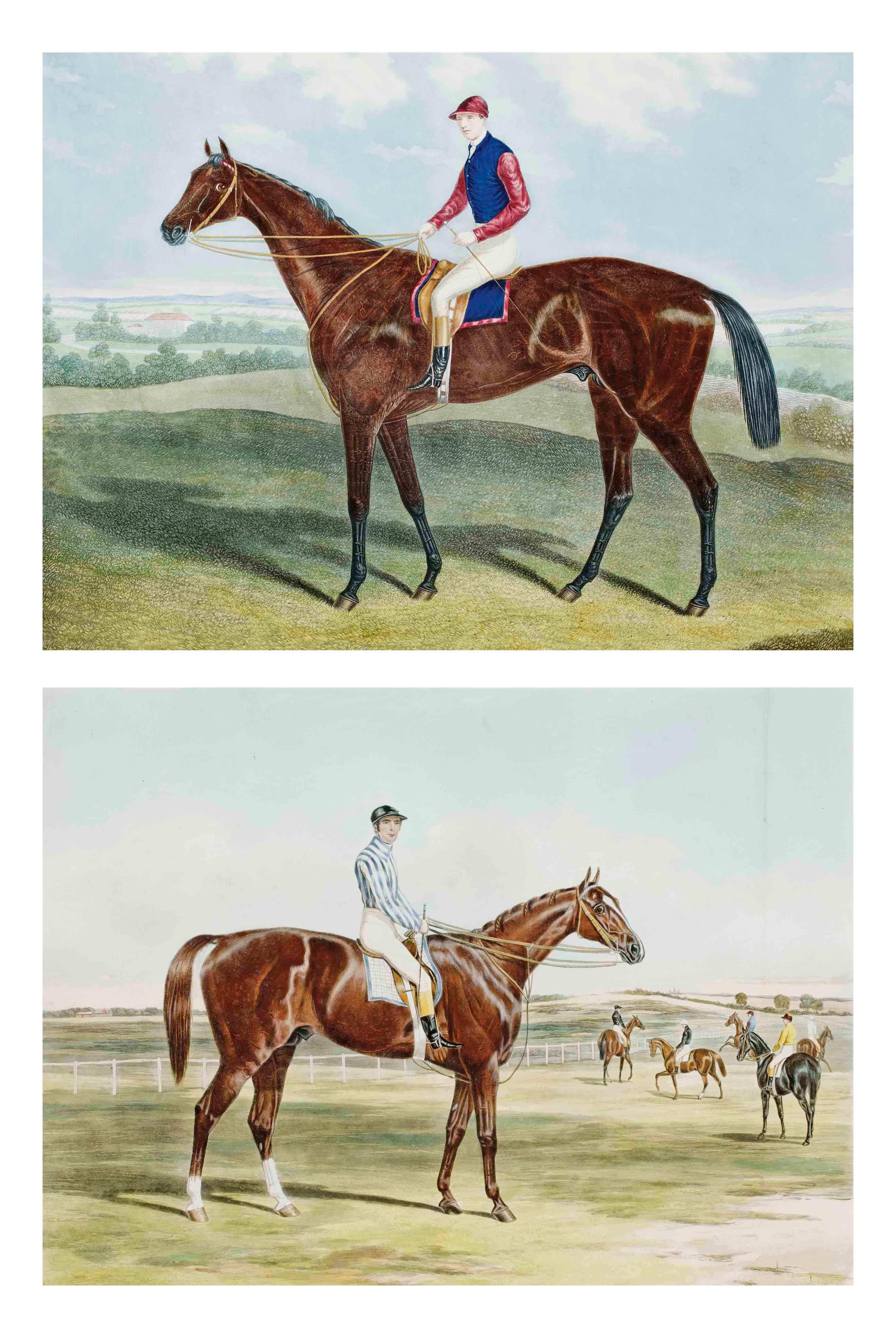 Gladiateur ; Stockwell, par J. Harris