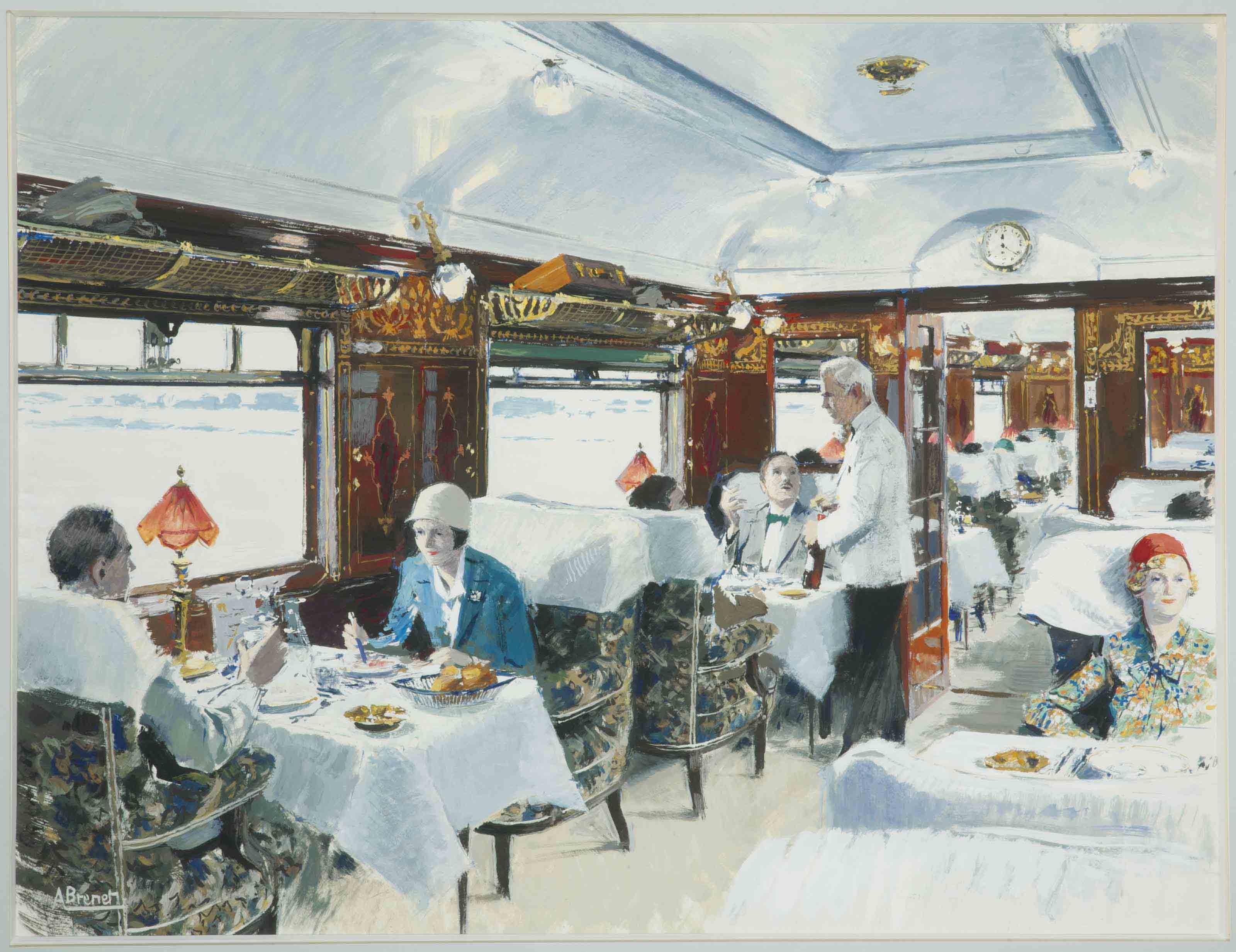 Le wagon-restaurant