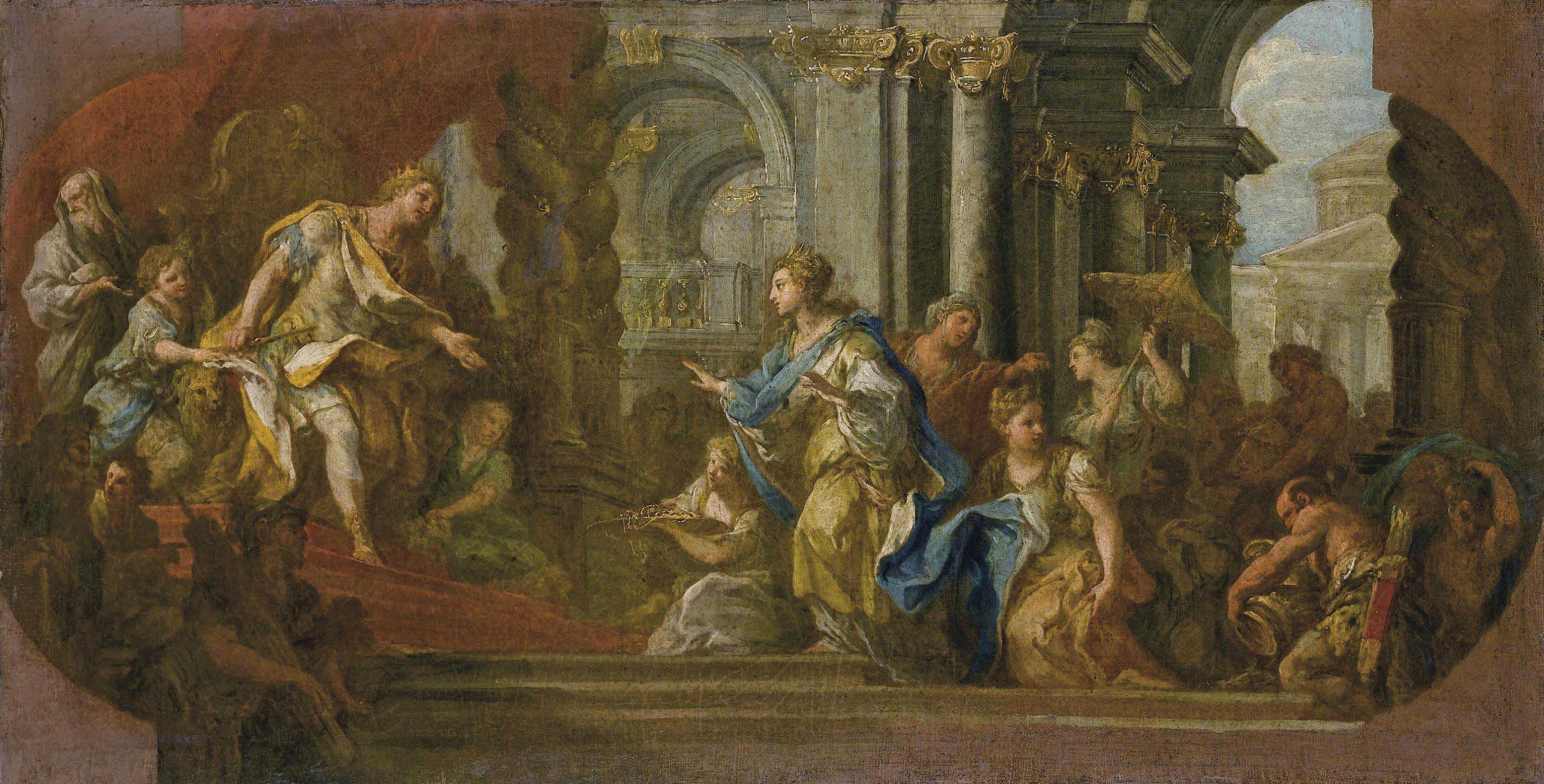 Salomone e la regina di Saba