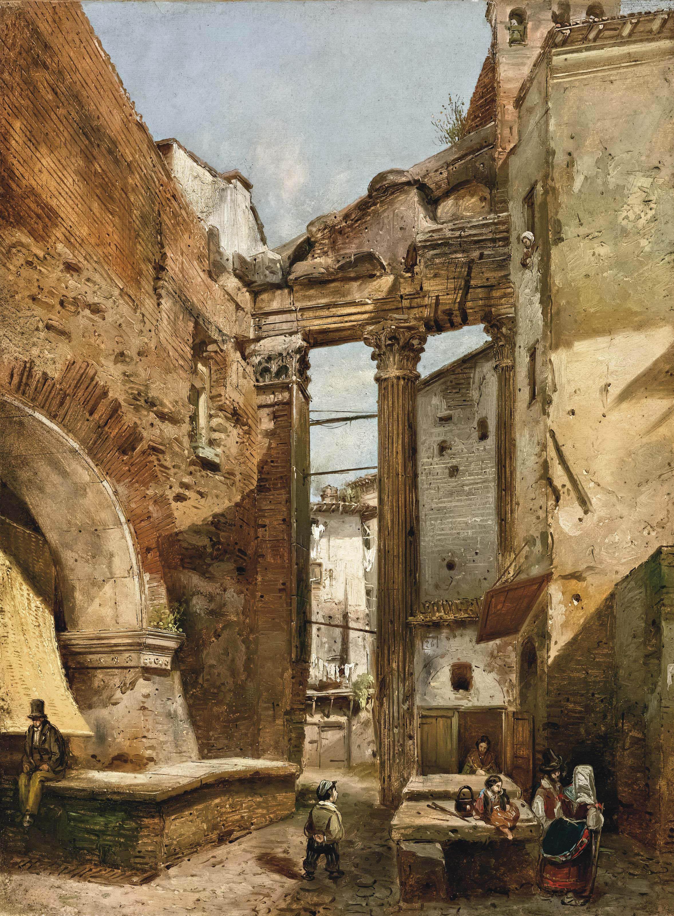 Roma, il Portico di Ottavia