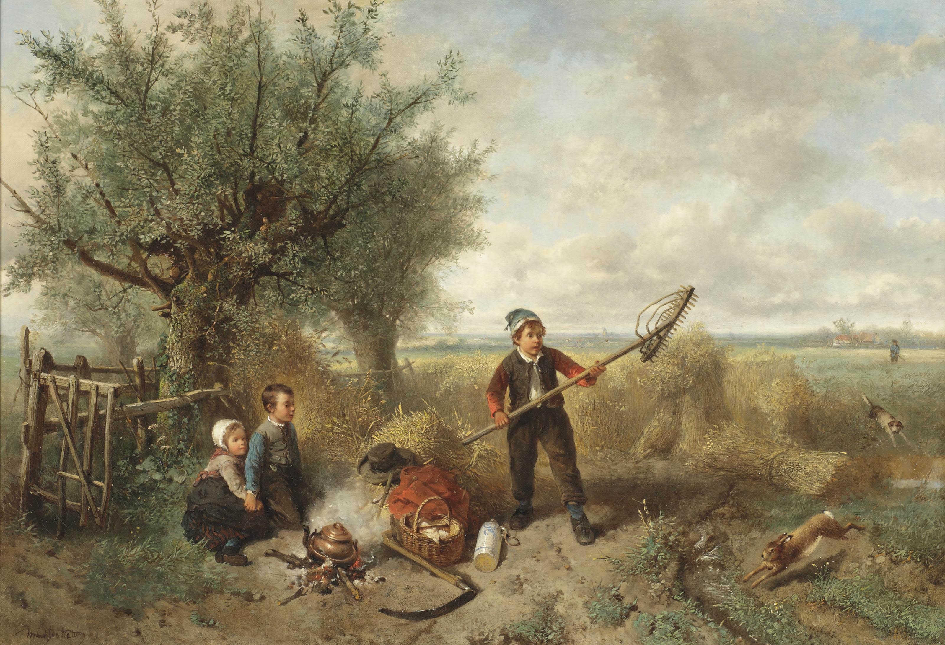 Interrupting the picknick