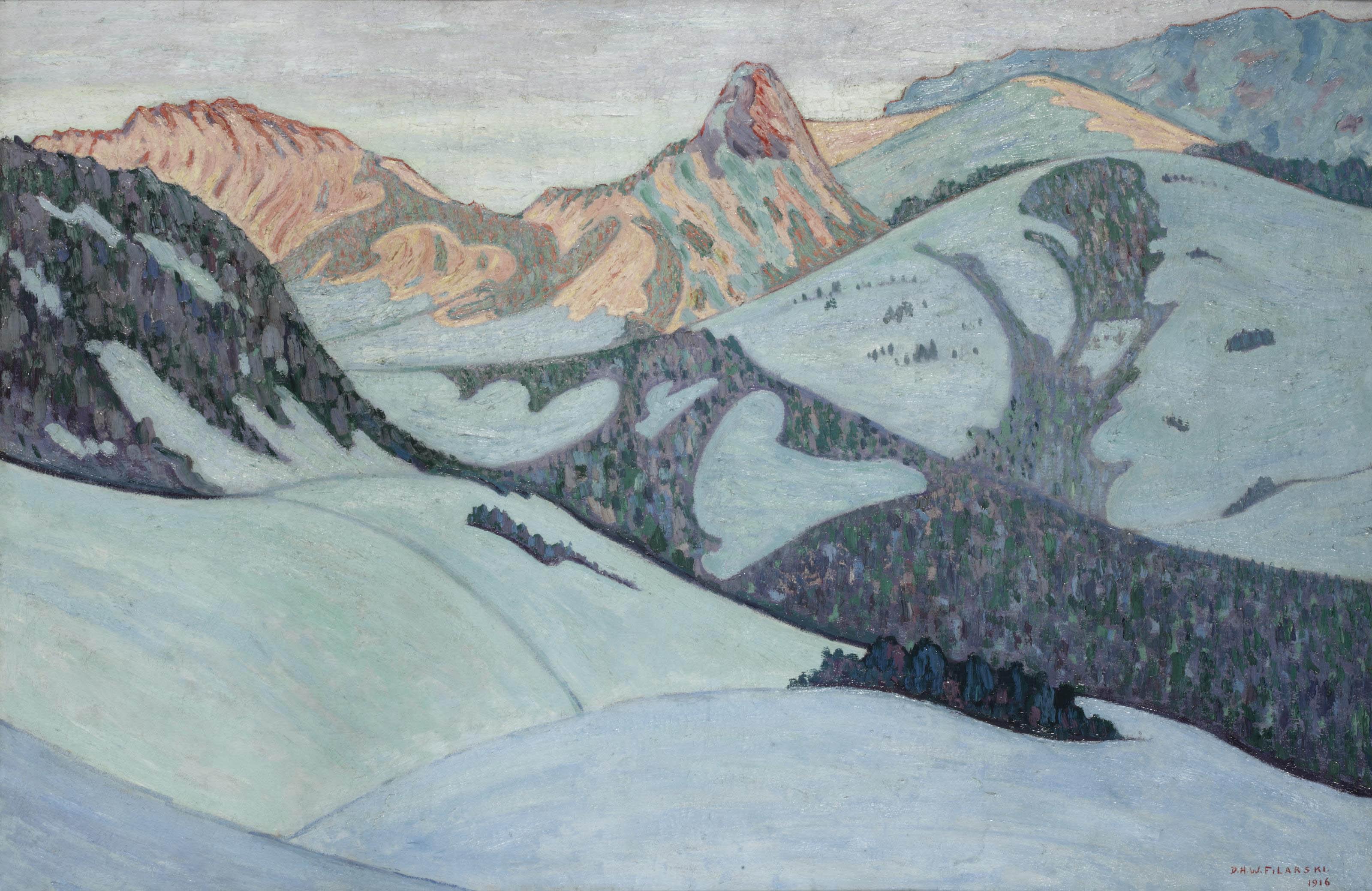 Alpenglooien; the Alps