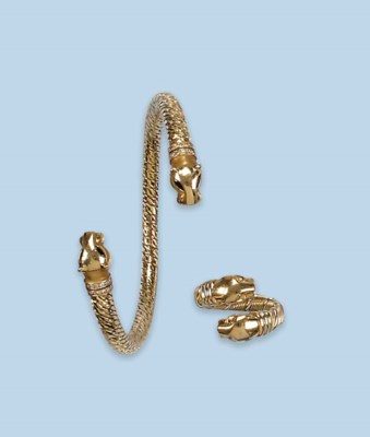 A Bangle And Matching Ring By Cartier Christie S