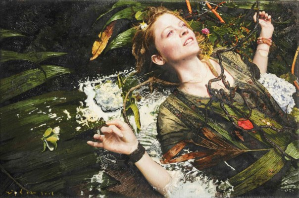 Yigal Ozeri Paintings For Sale