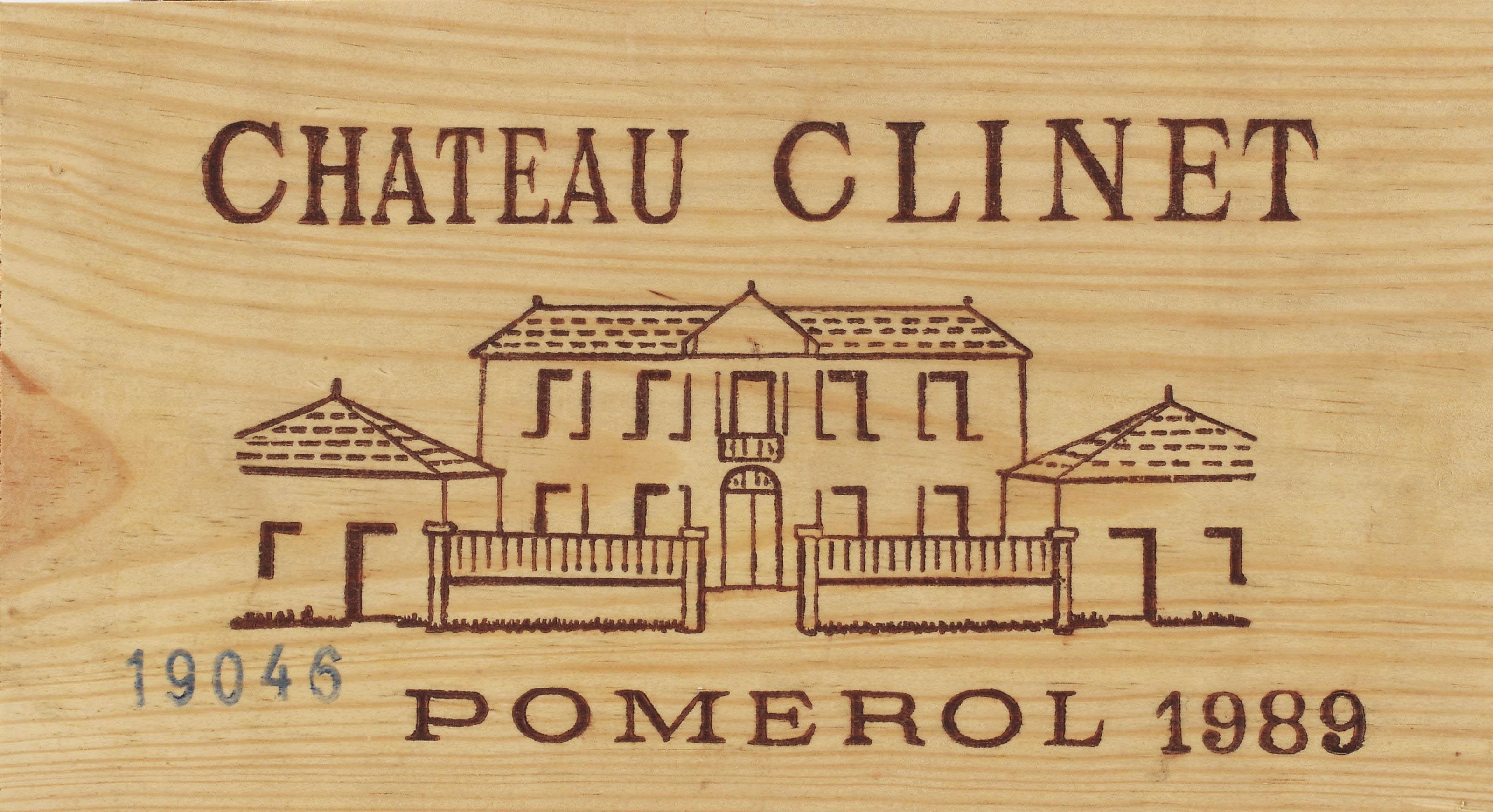 Château Clinet--Vintage 1989