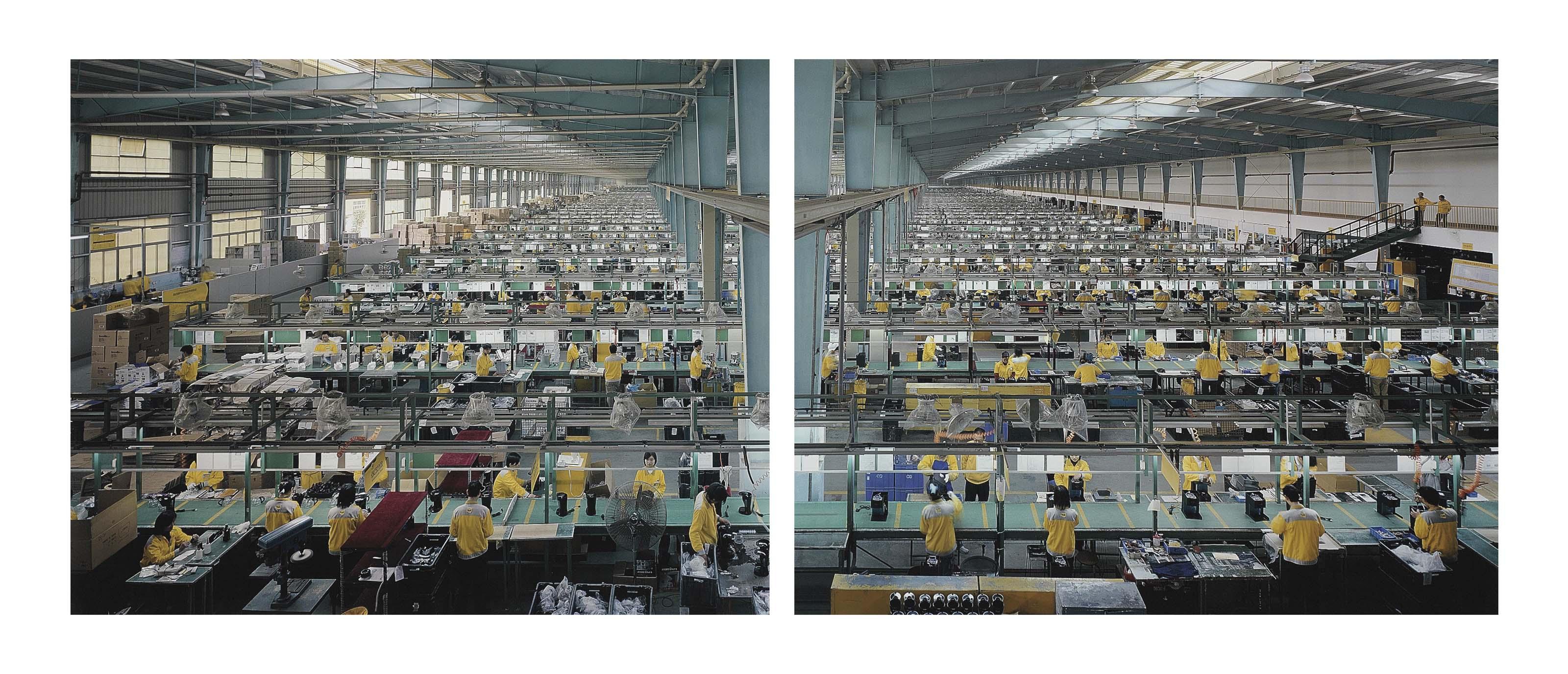 Manufacturing # 10 A & B, Cankun Factory, Xiamen, China, 2005