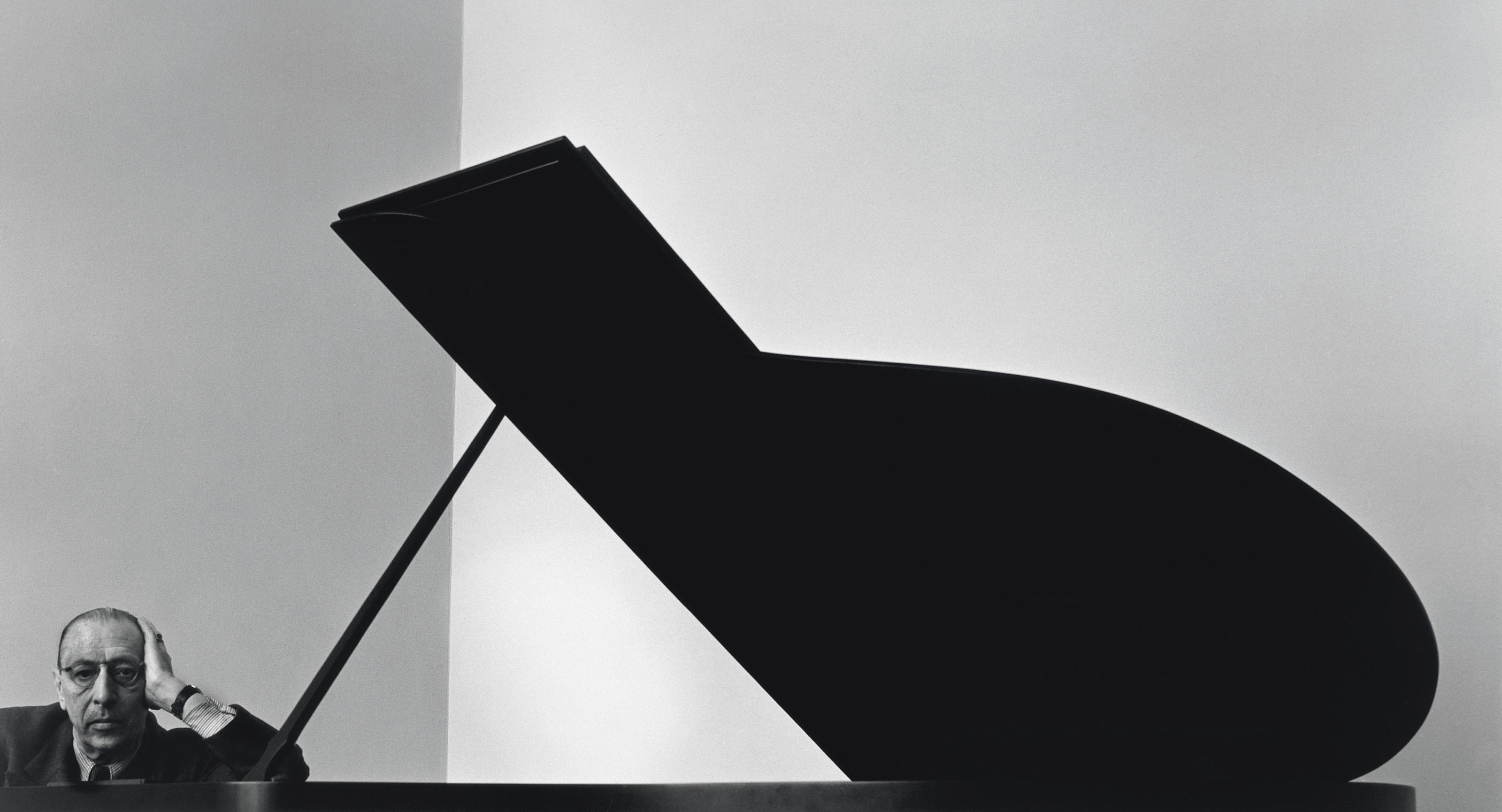 Igor Stravinsky, New York City, 1964