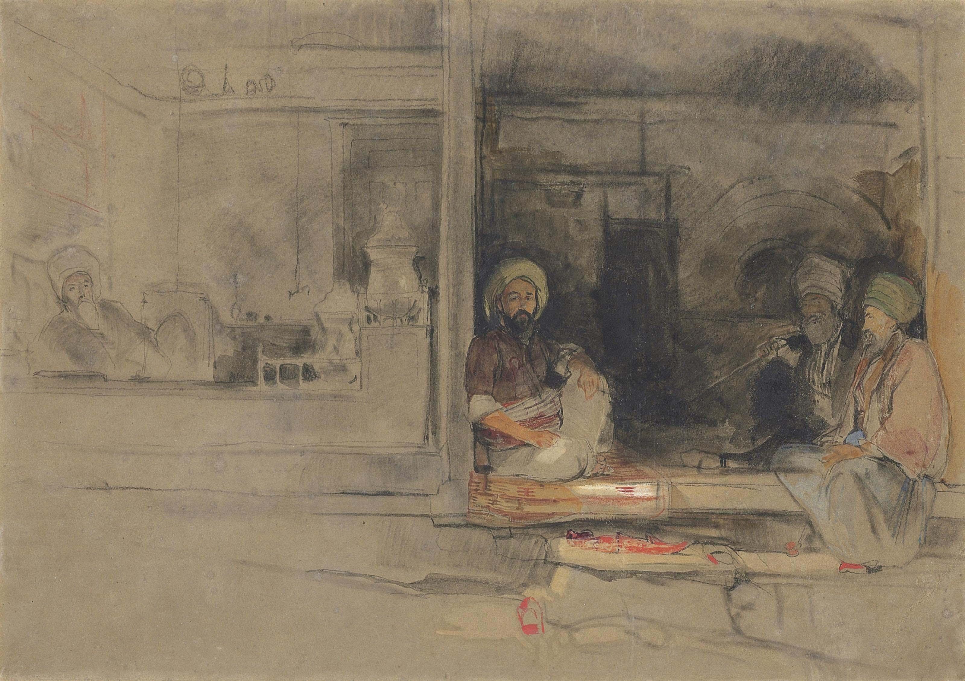 A Kibab Shop, Scutari, Asia Minor