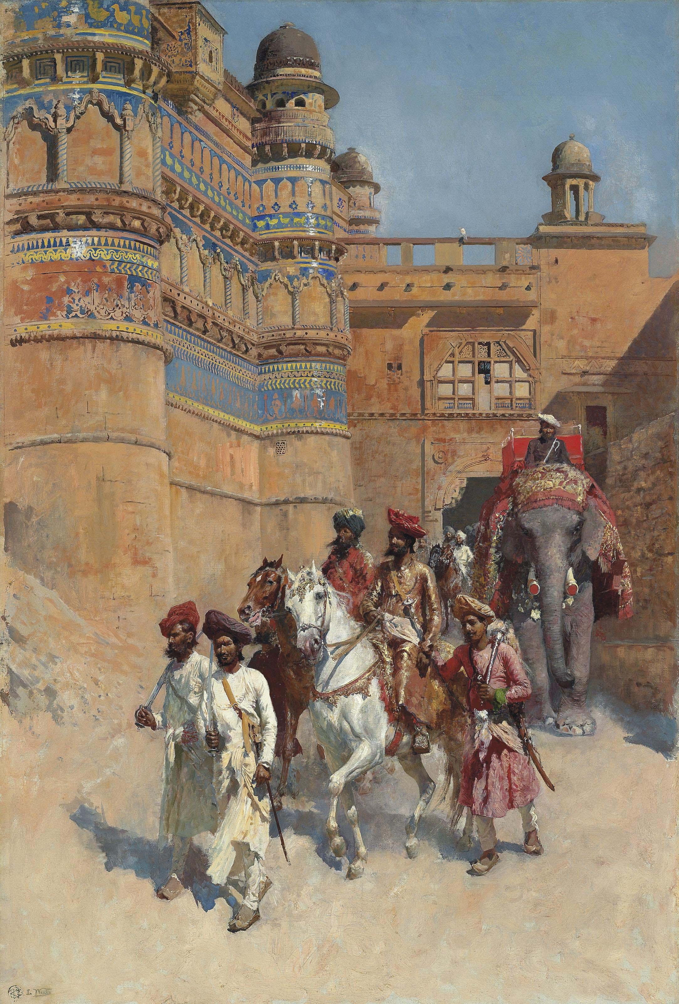 The Fort of Gwalior, Madhya Pradesh