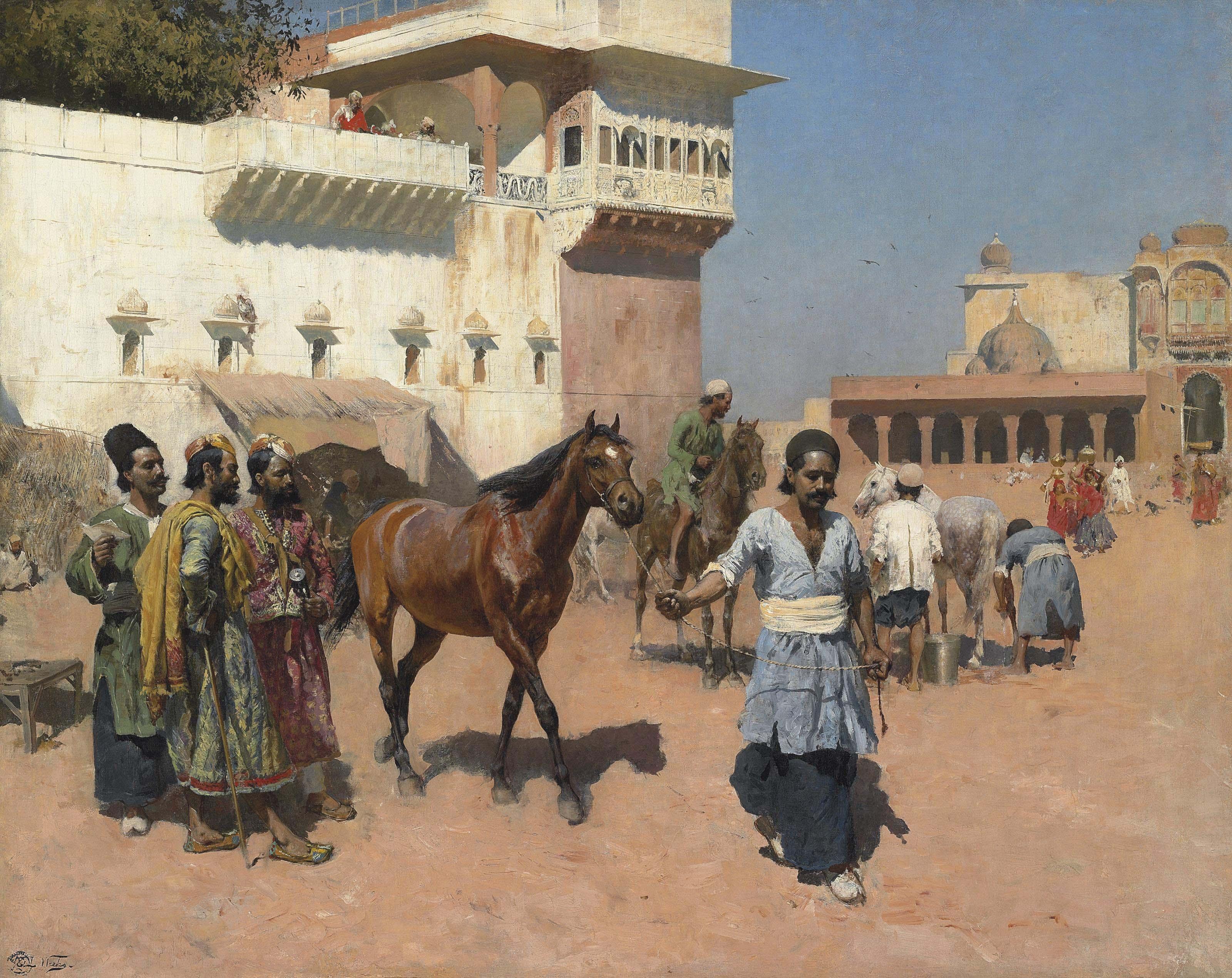 Persian Horse Dealer, Bombay