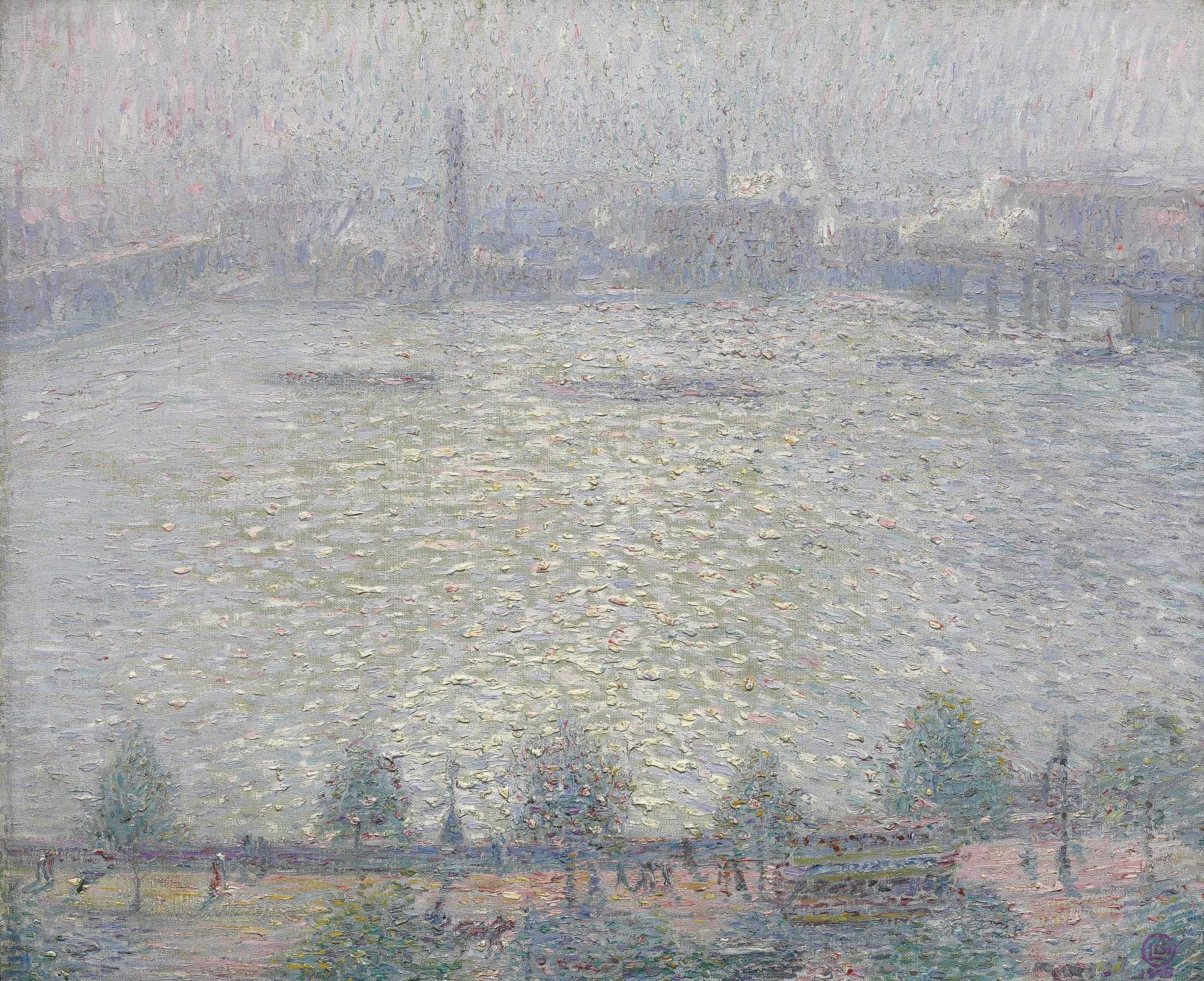 View of the Thames Embankment