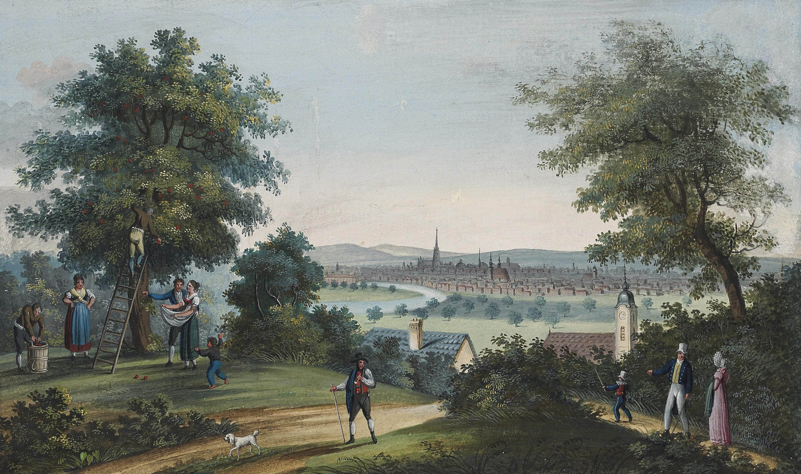 Vienna and the Heiligenstadt