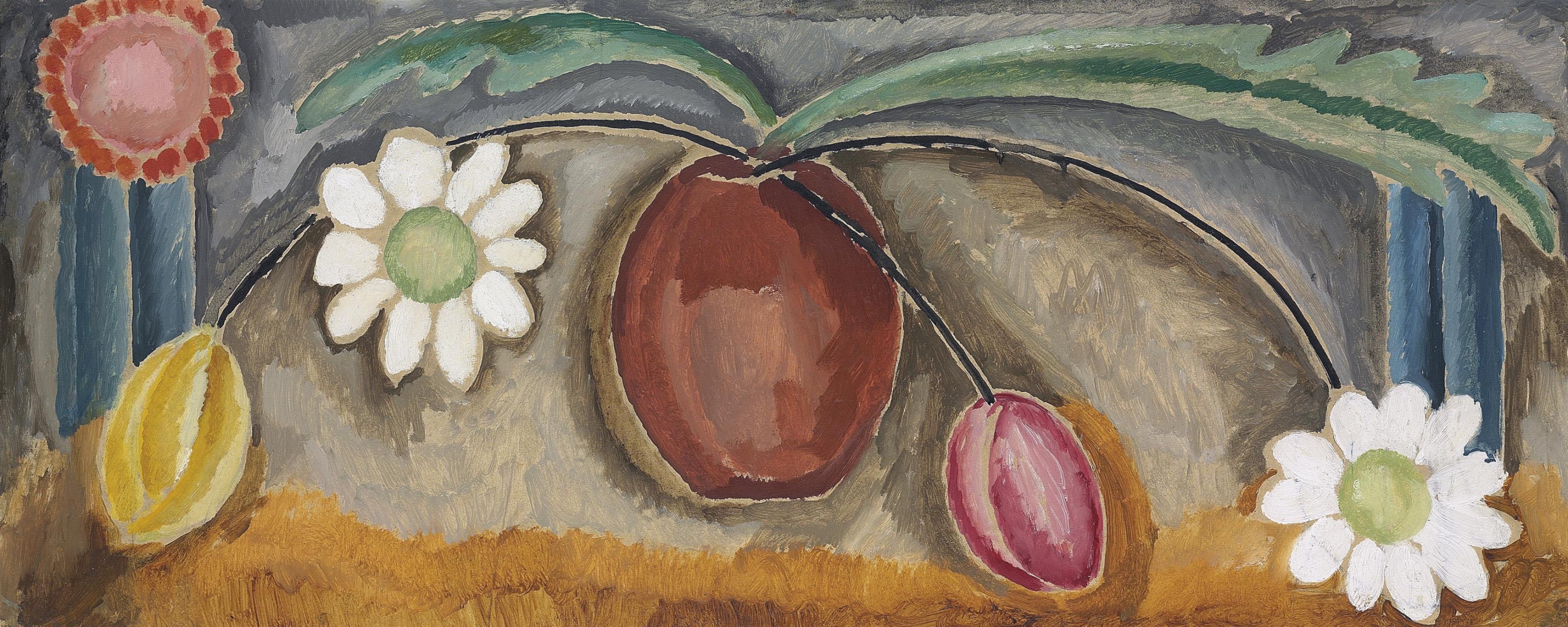 Vase of Flowers: Design for the Omega Workshops