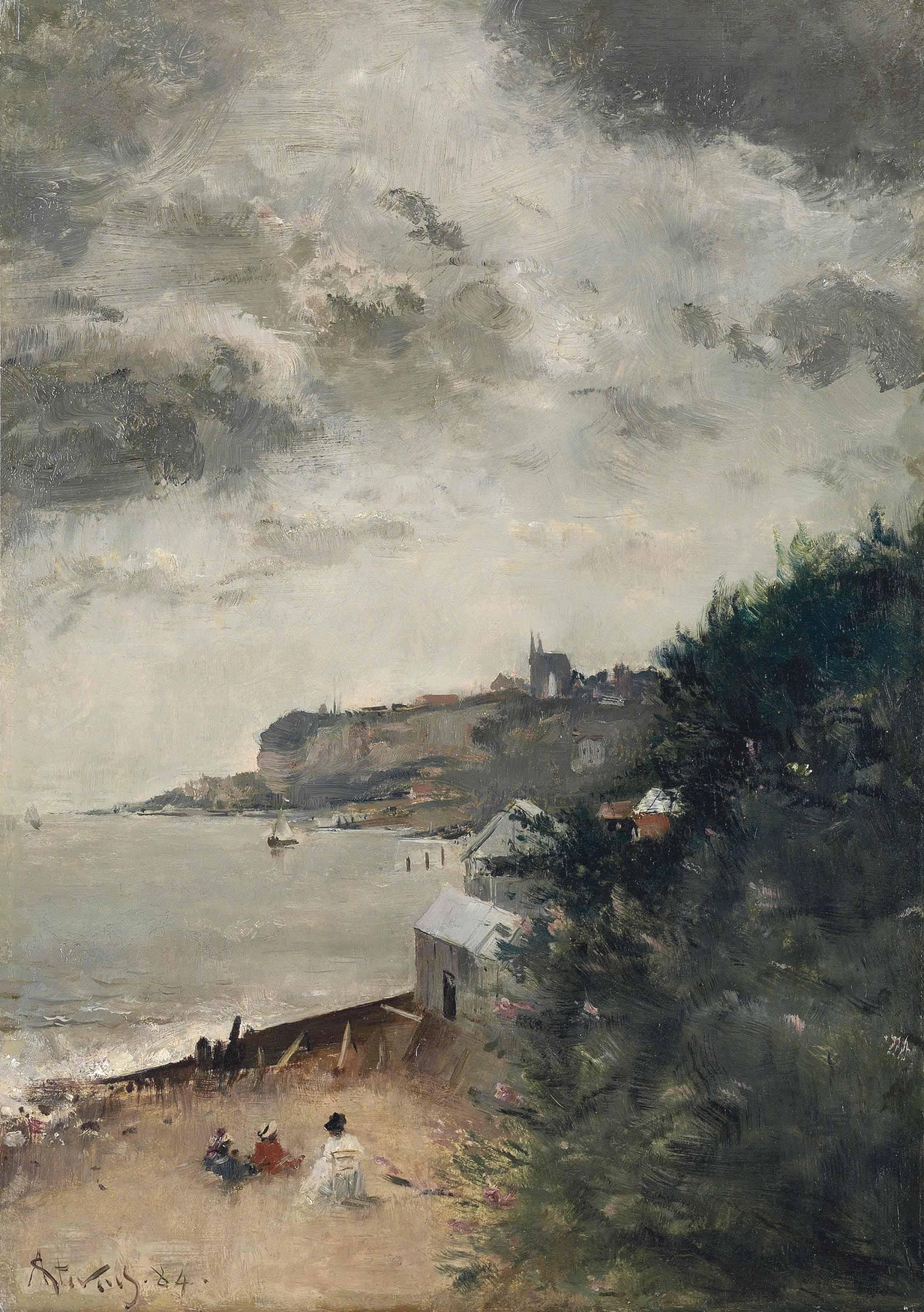 Vue de St. Adresse, Le Havre