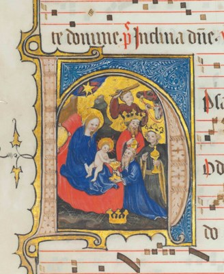 THE ADORATION OF THE MAGI, his
