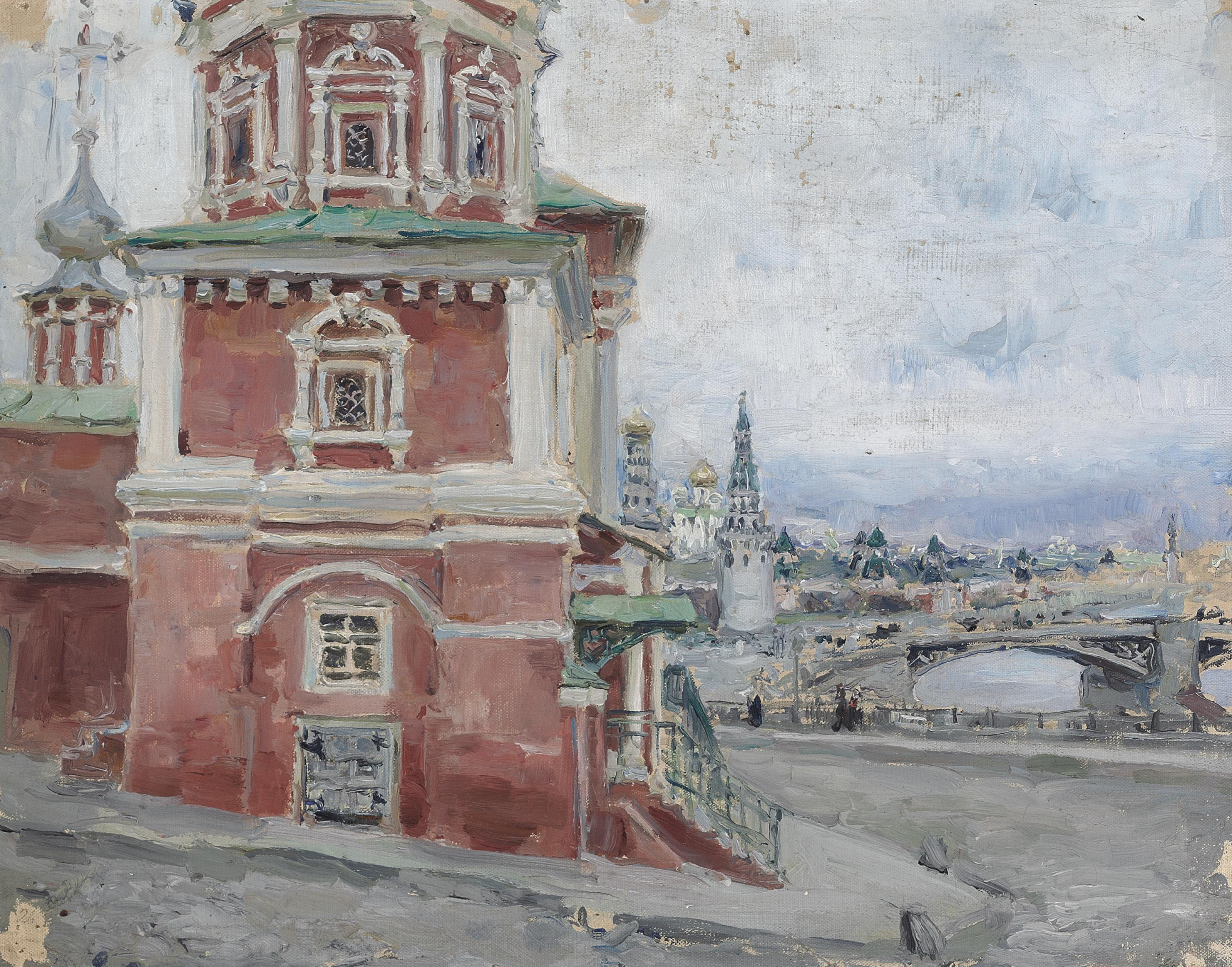 A church in Moscow