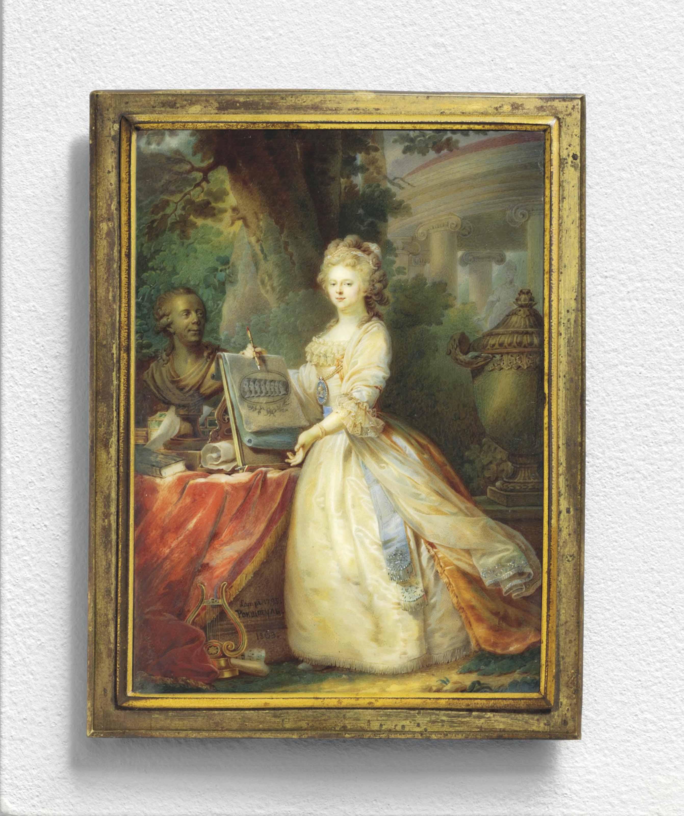 ALOIS GUSTAV ROCKSTUHL (RUSSIAN, 1798-1877) AFTER GIOVANNI BATTISTA LAMPI (ITALIAN, 1751-1830)