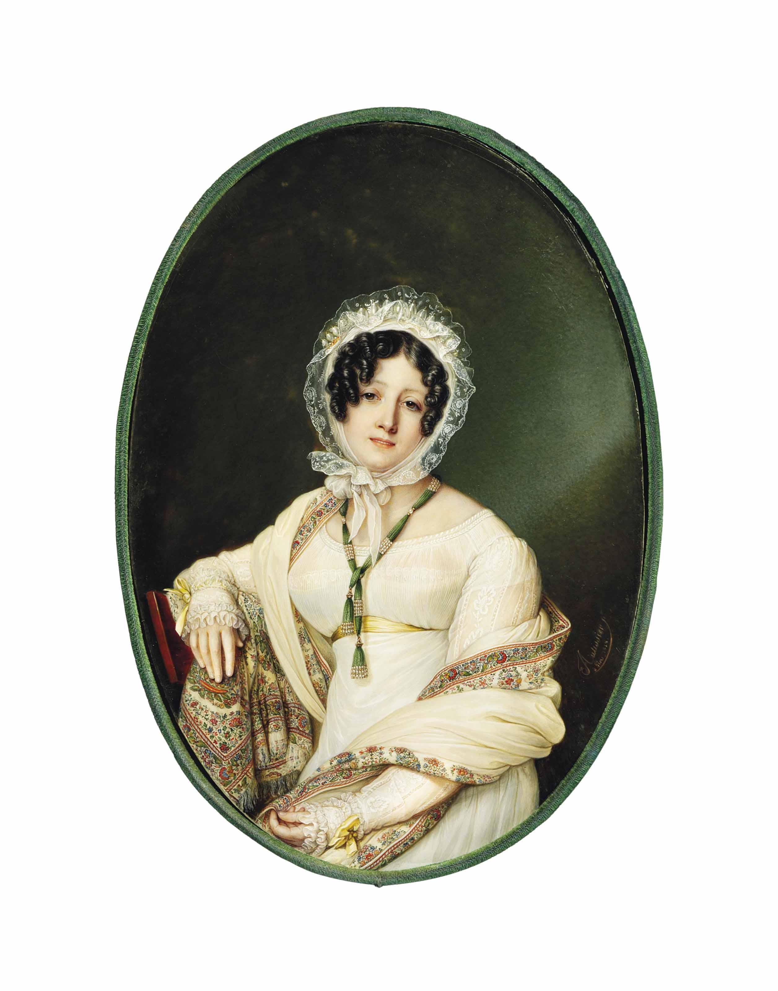 LOUIS-MARIE AUTISSIER (FRANCO-BELGIAN, 1772-1830)
