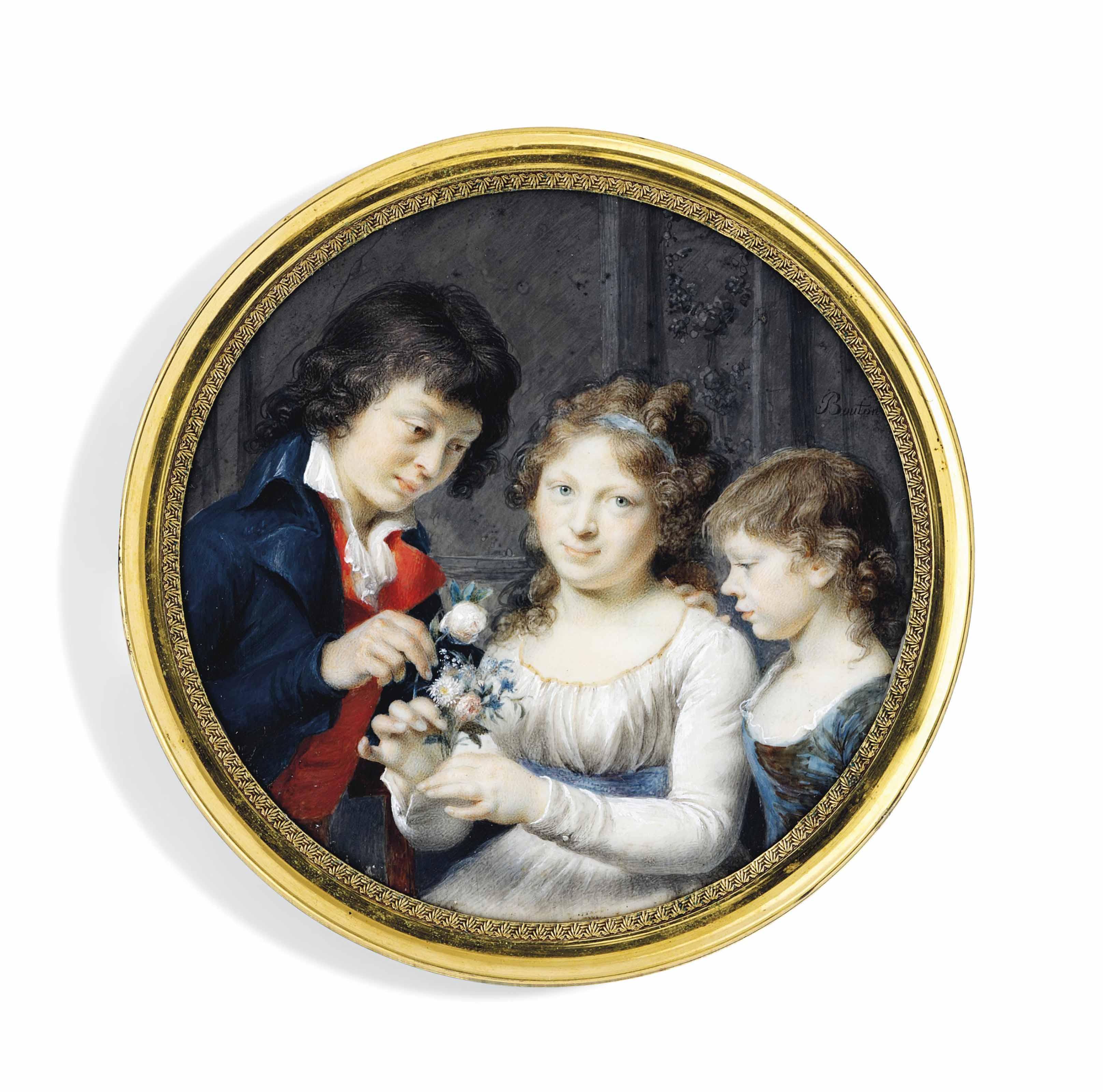 JOSEPH-MARIE BOUTON (HISPANO-FRENCH, 1768-1832)
