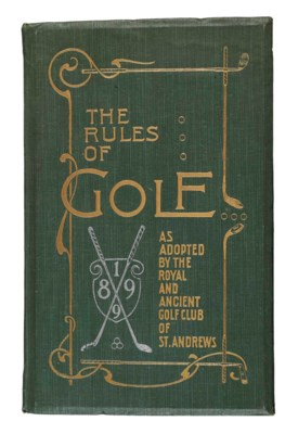RULES FOR THE GAME OF GOLF AS