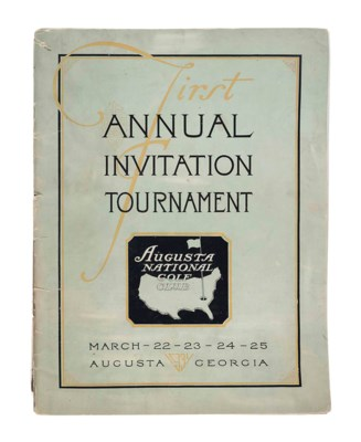 AUGUSTA NATIONAL, FIRST ANNUAL