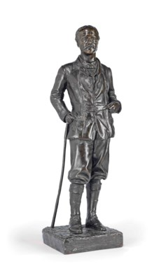 A BRONZE MODEL OF THE RT. HON.