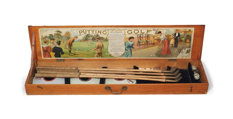 THE GAME OF PUTTING GOLF