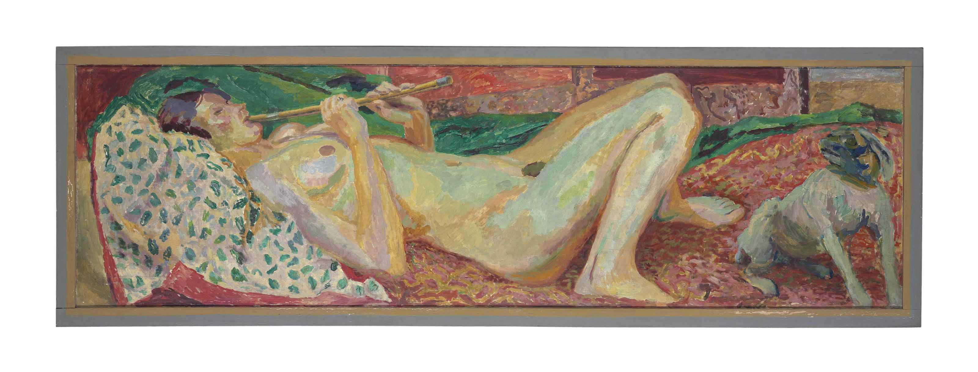 Nude with a Flute